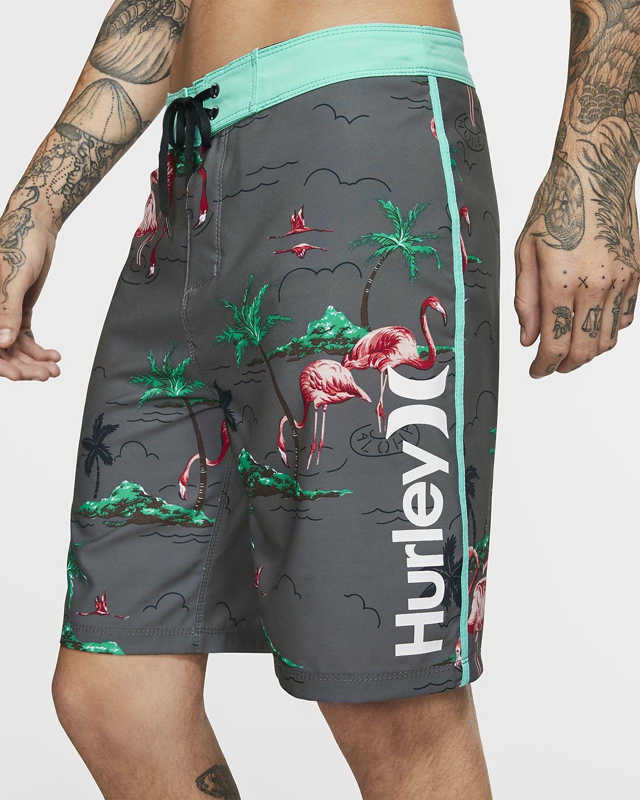 Surfshorts Hurley Flamingo 51 cm för män