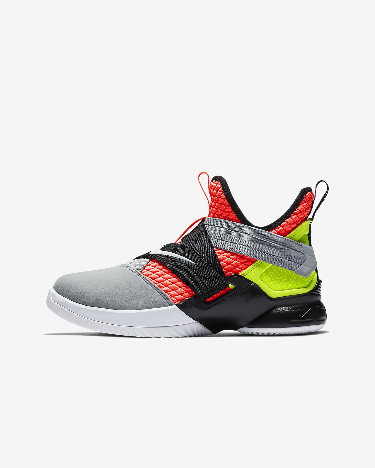 big sale 0d9cb a0d3c ... LeBron Soldier 12 SFG Big Kids  Basketball Shoe