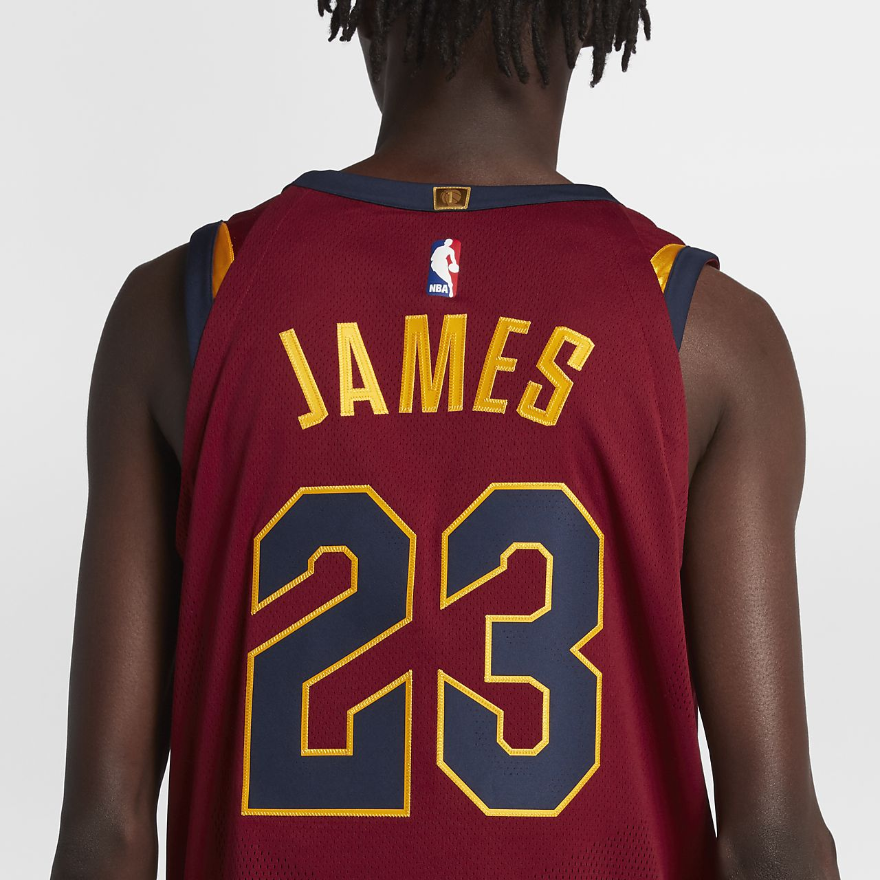 ... LeBron James Icon Edition Authentic (Cleveland Cavaliers) Men's Nike  NBA Connected Jersey