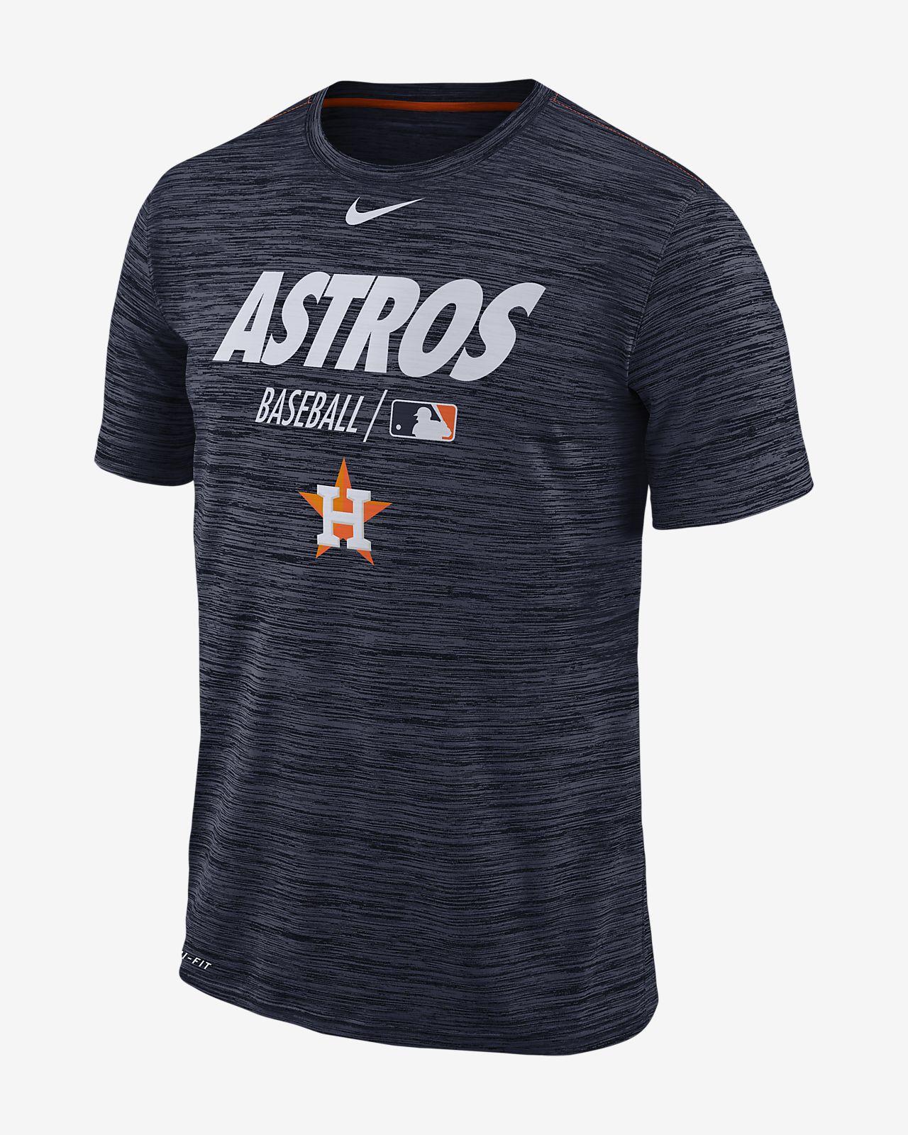 8afa2eb9 Nike Dri-FIT AC Velocity Team Issue (MLB Astros) Men's T-Shirt. Nike.com