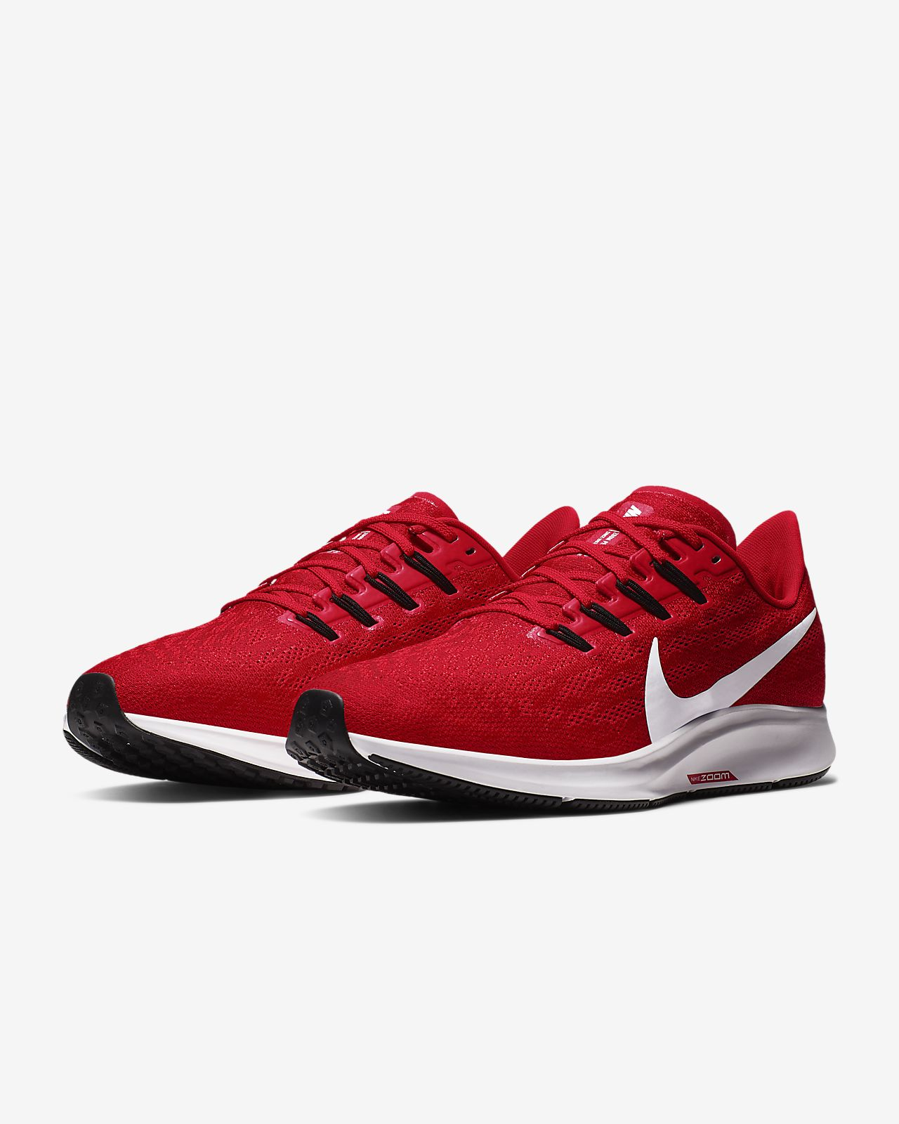 NIKE AIR ZOOM PEGASUS 34 classic Women's Breathable Running Shoes Non slip Shock absorption Sneakers white