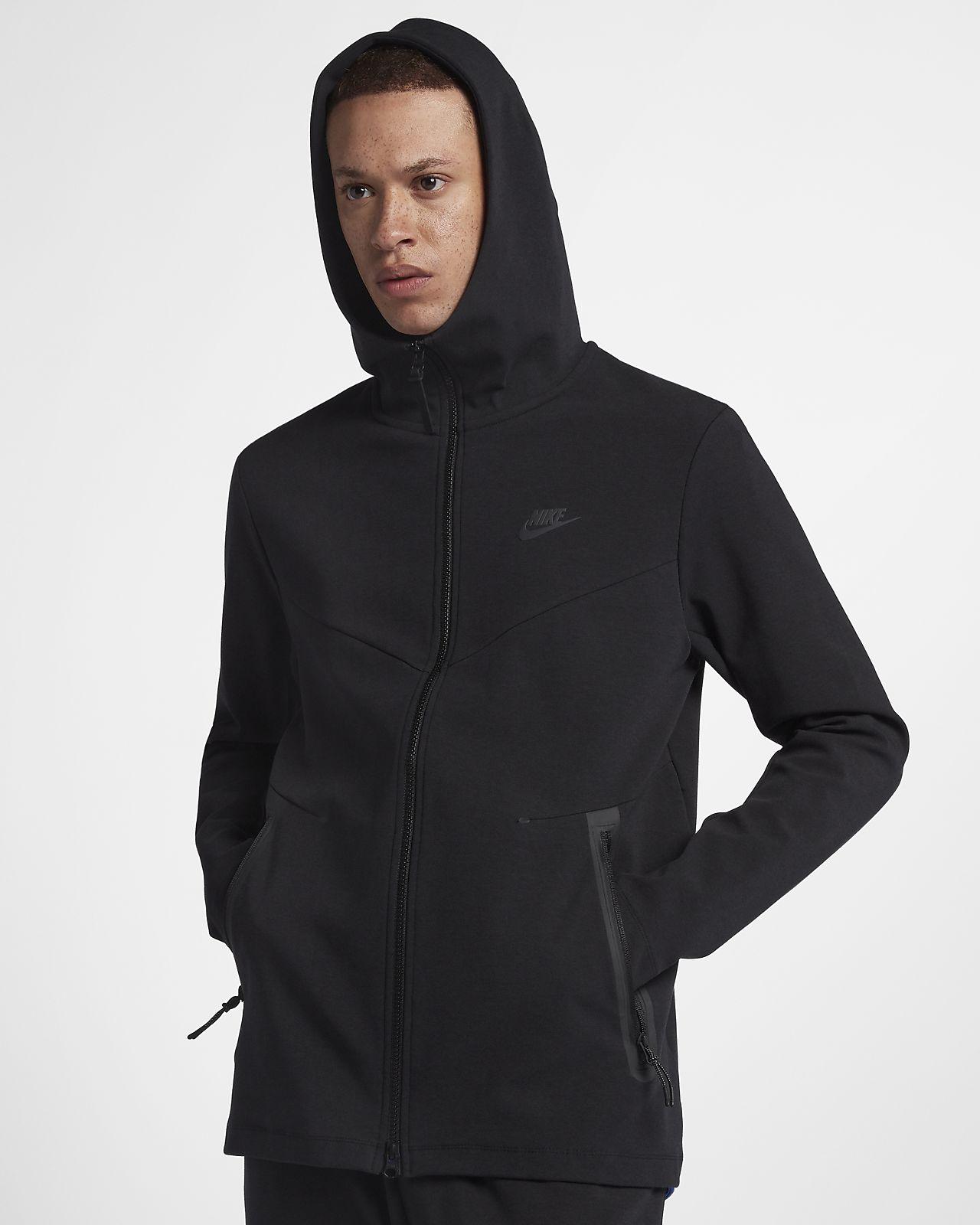 Ανδρική μπλούζα με κουκούλα και φερμουάρ Nike Sportswear Tech Pack