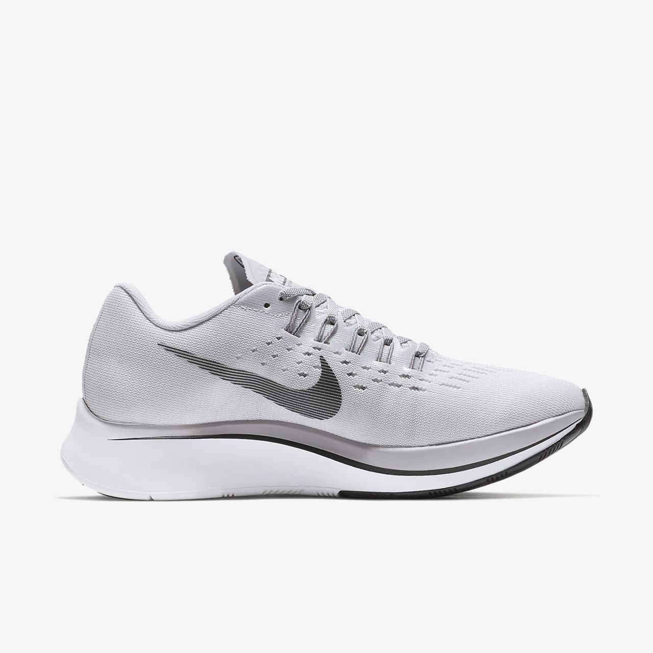 Nike Zoom Fly Women's Running Shoes Black/Grey/White bU5224N