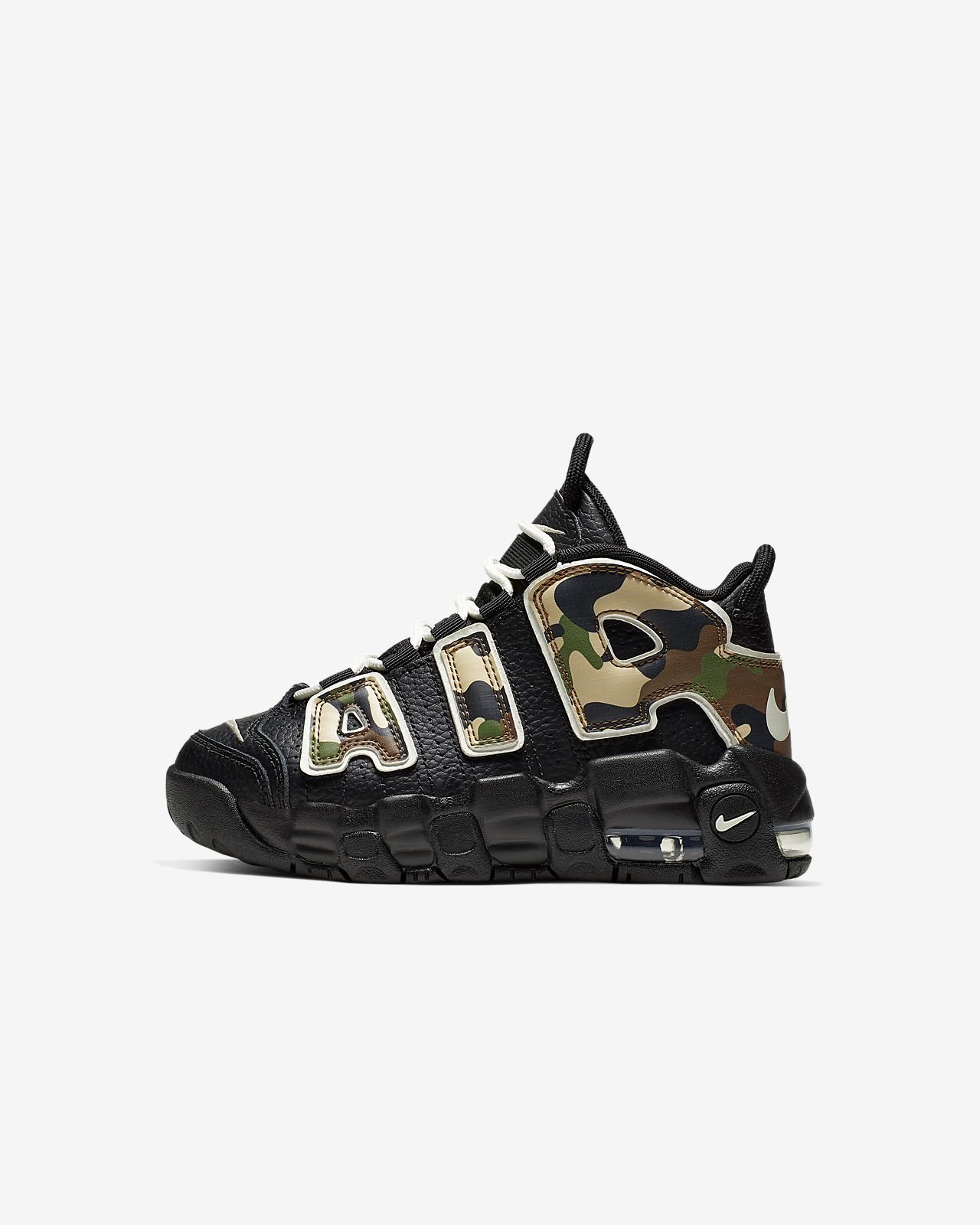 Nike Air More Uptempo QS Little Kids' Shoe
