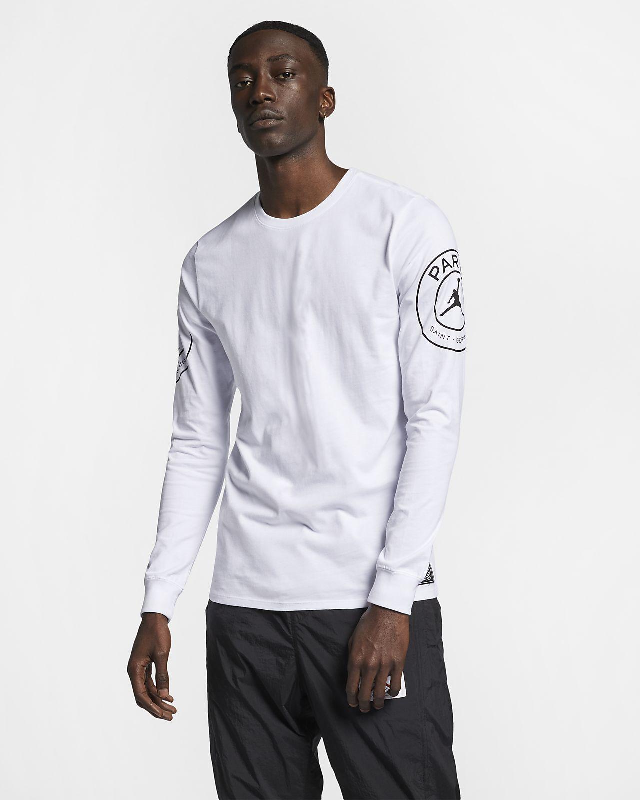 promo code 10025 5ad52 PSG Statement Men s Long-Sleeve T-Shirt. Nike.com AU