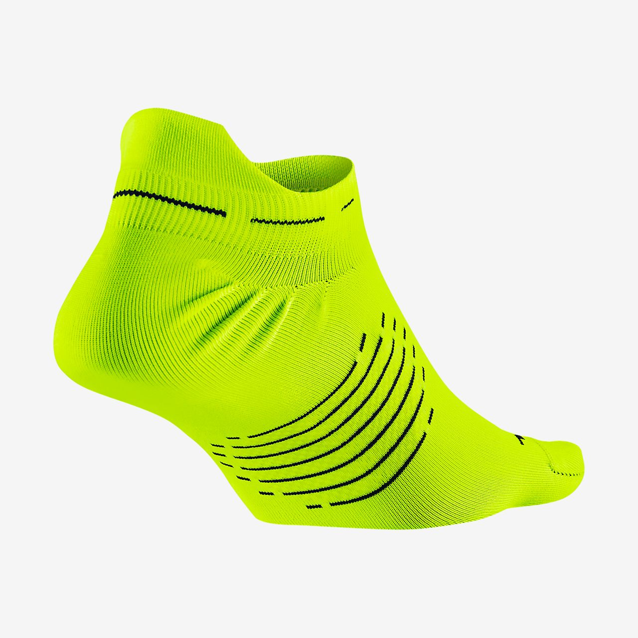 Nike Elite Lightweight No-Show Tab-løbestrømper