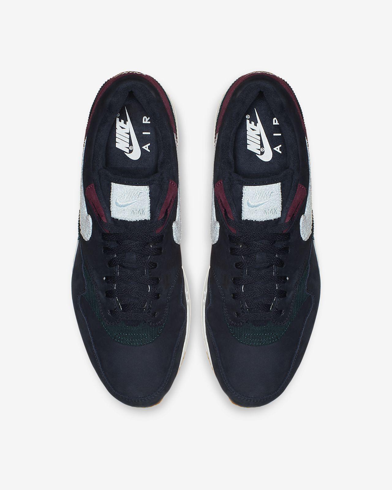Nike Air Max 1 Crepe Sole (Dark Obsidian Cobalt)