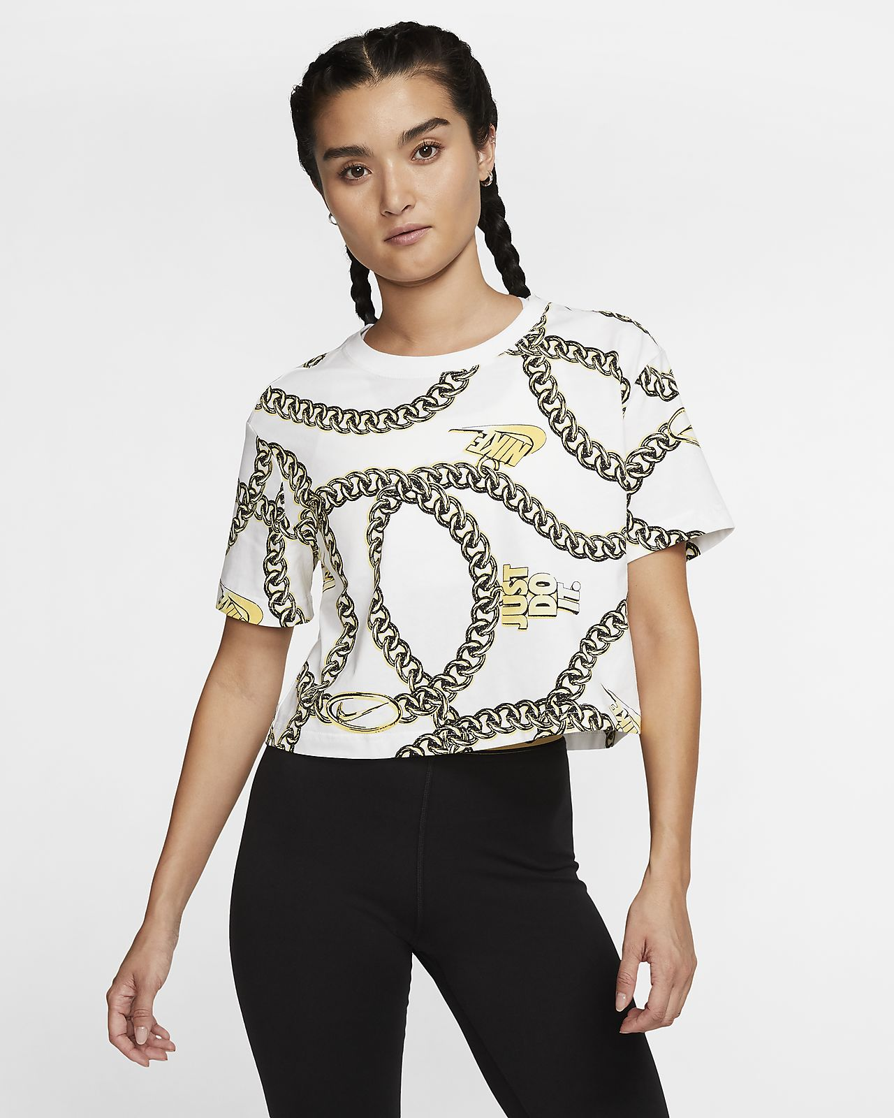 Nike Sportswear Women's Short-Sleeve Crop Top