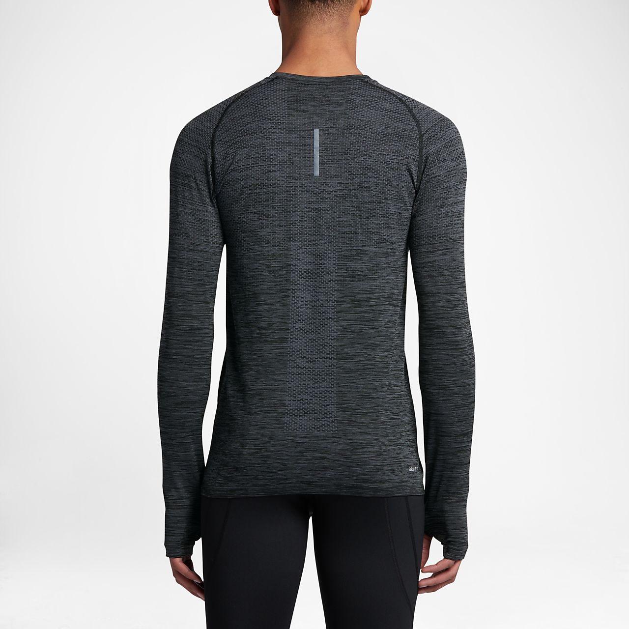 ... Nike Dri-FIT Knit Men's Long Sleeve Running Top