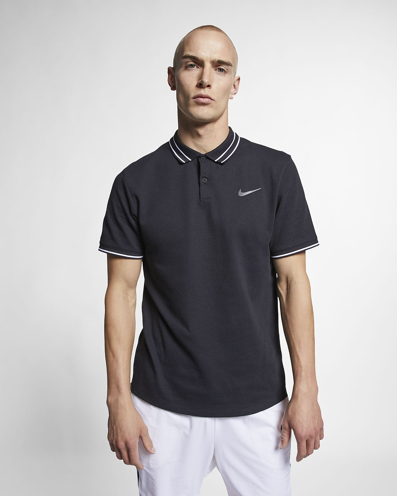 newest 19df7 f774f ... Polo de tennis NikeCourt Advantage pour Homme