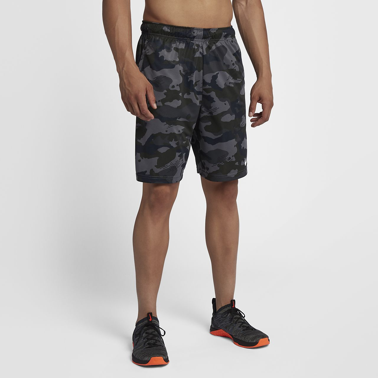 Nike Dri-FIT Men s Knit Camo Training Shorts. Nike.com HU 7af518ad2