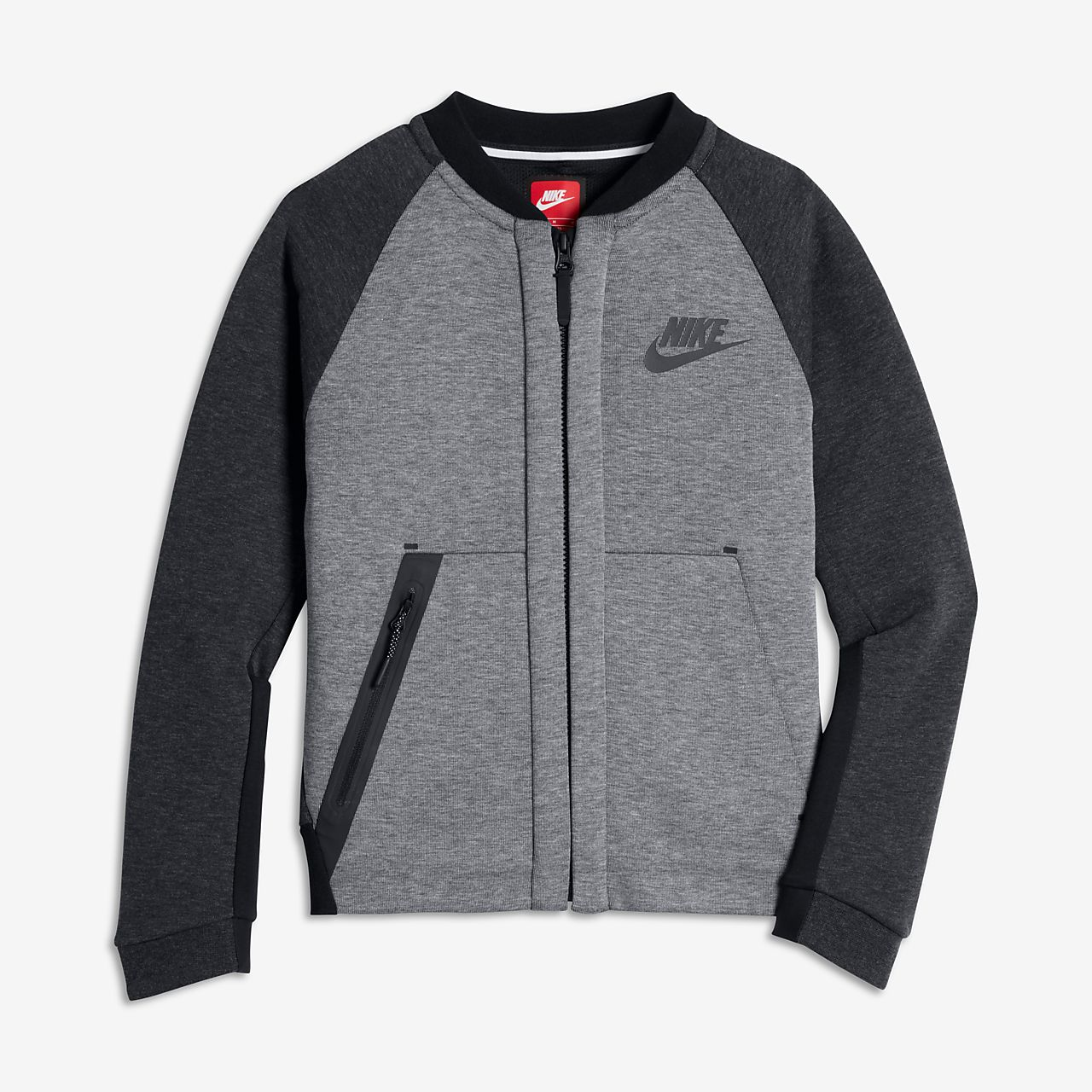 Nike tech knit jacket schwarz