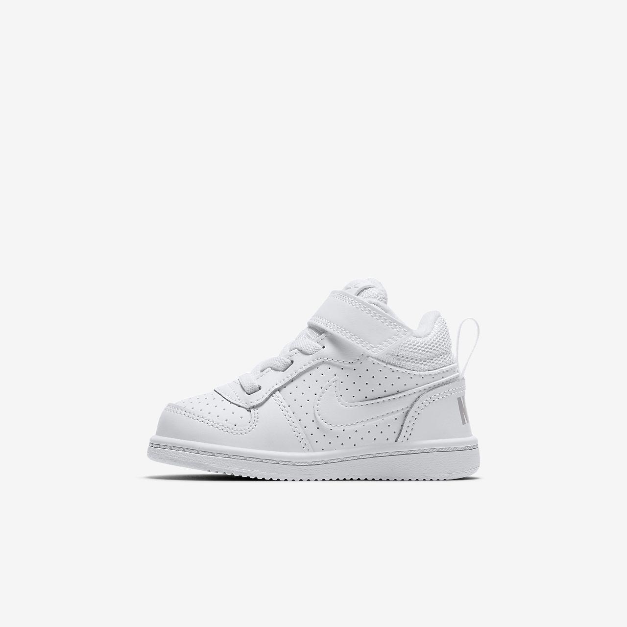 Chaussure NikeCourt Borough Mid pour Bébé et Petit enfant