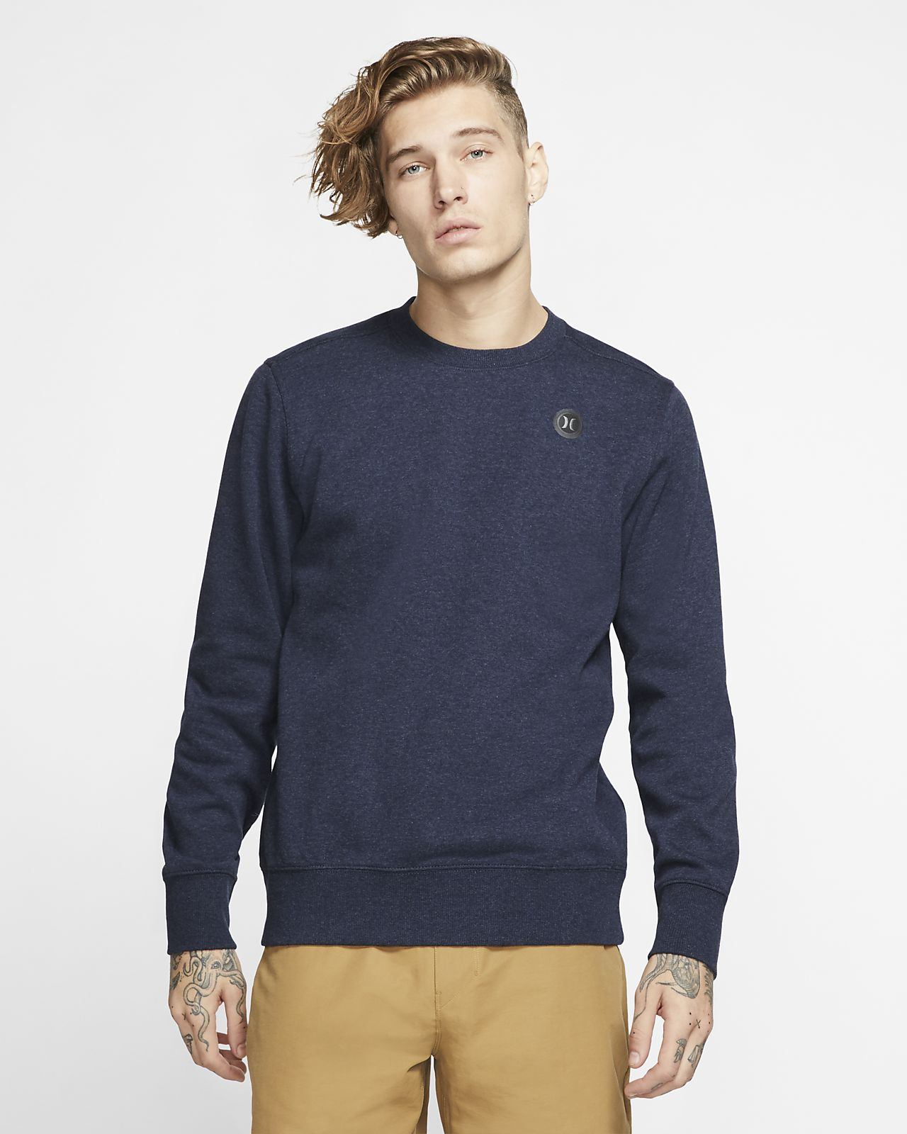 Hurley Therma Protect Men's Fleece Crew