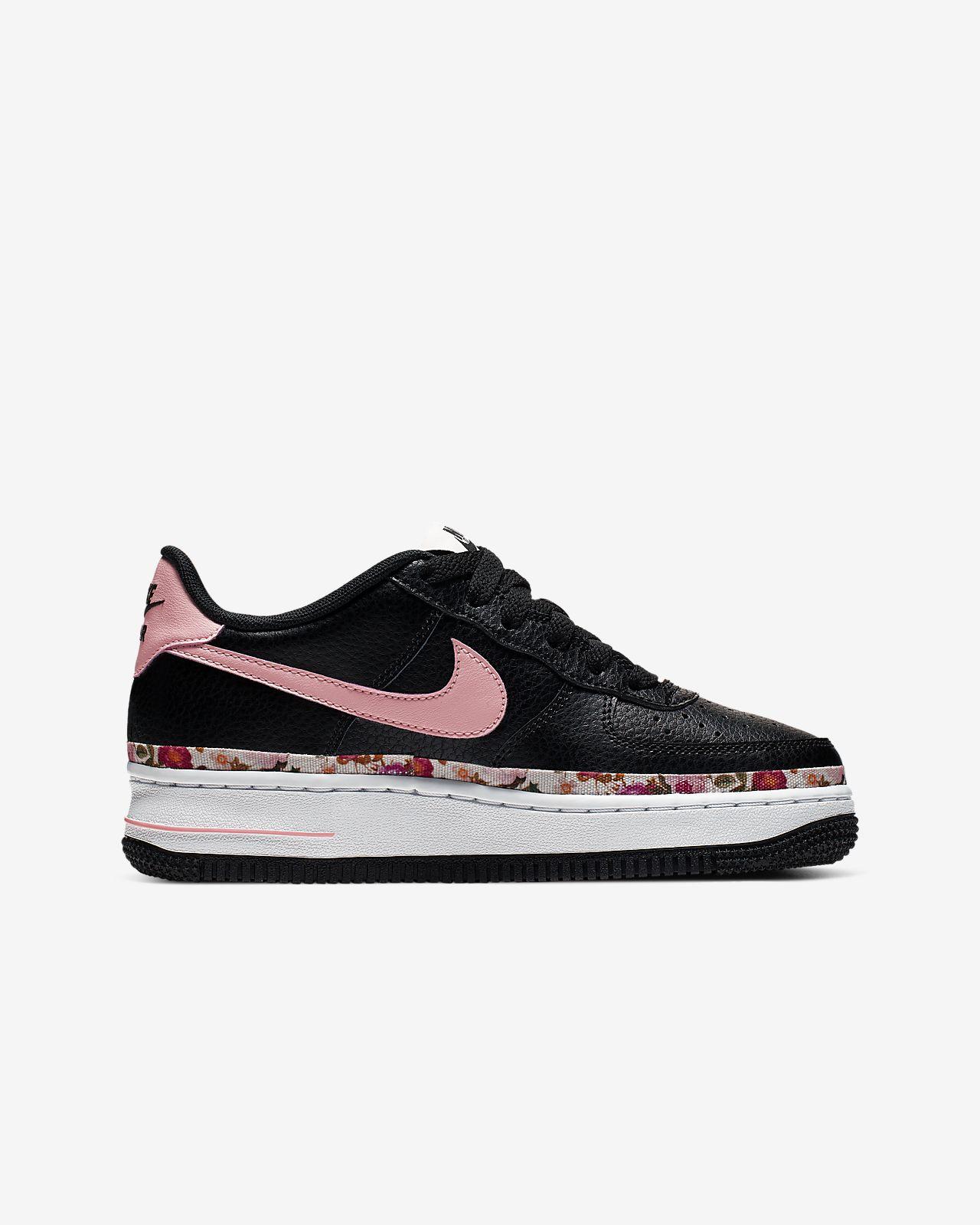 Âgé Chaussure Vintage Pour Air Force Plus Floral Enfant 1 Nike mwyNPnv80O