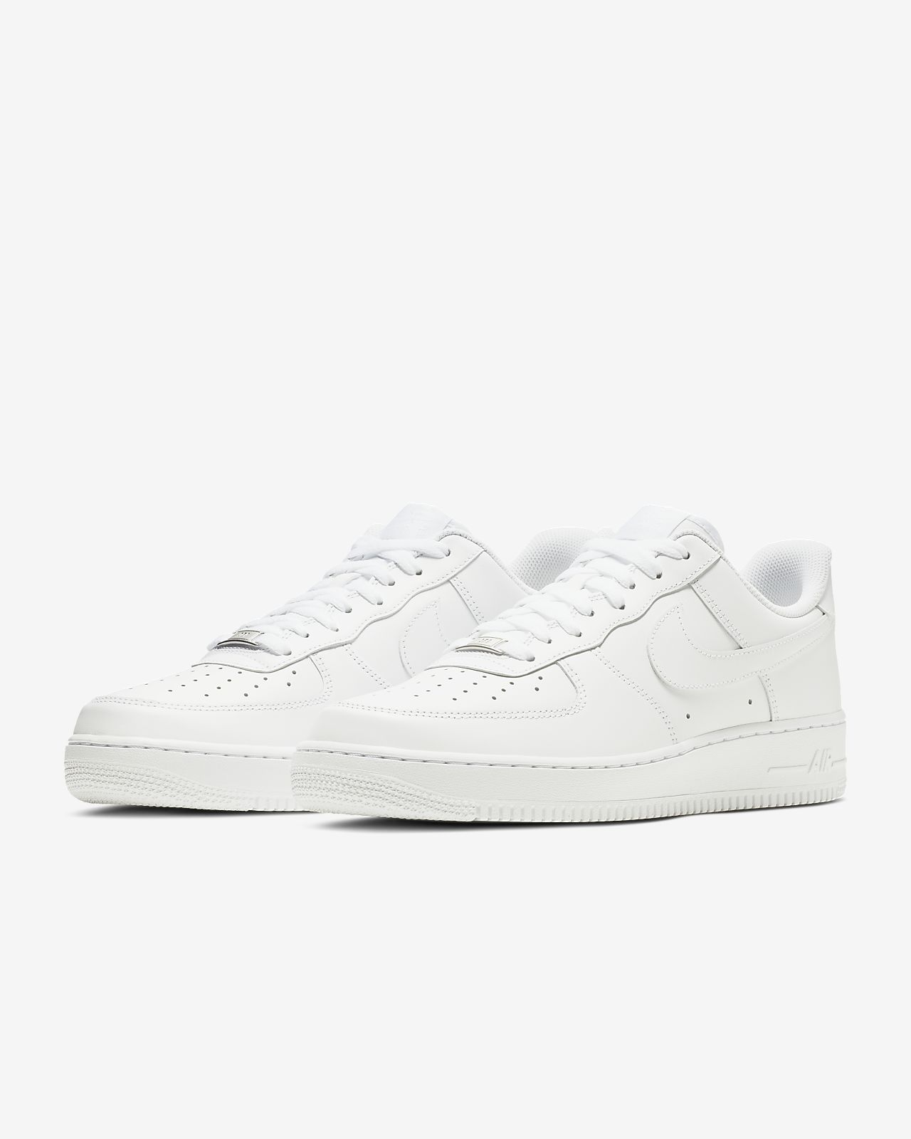 Nike Air Force 1 Mens Tous Blancs
