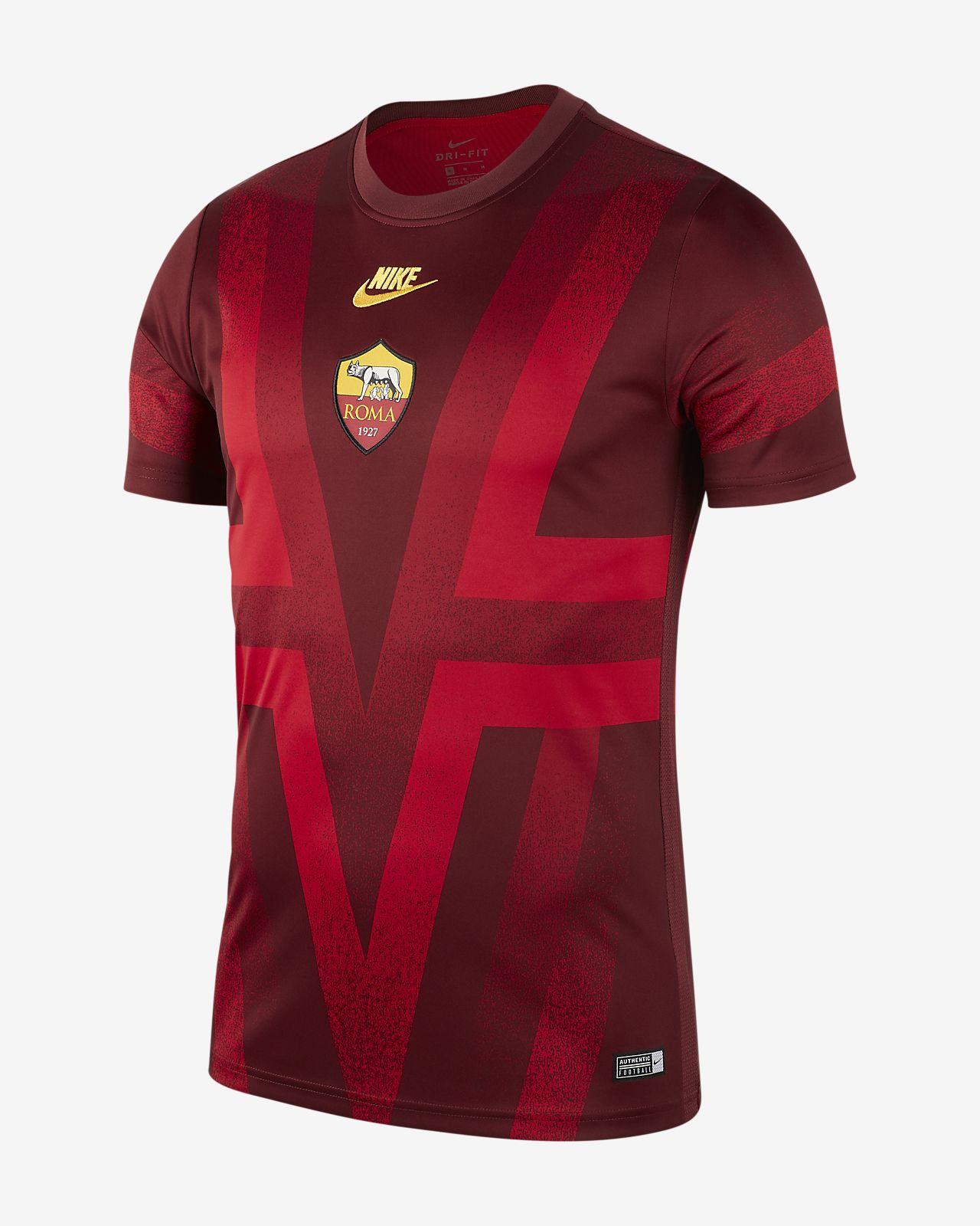 Haut de football à manches courtes A.S. Roma pour Homme