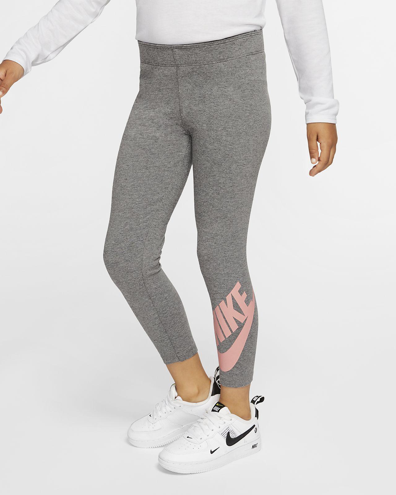 Nike Sportswear Leg-A-See Little Kids' Leggings