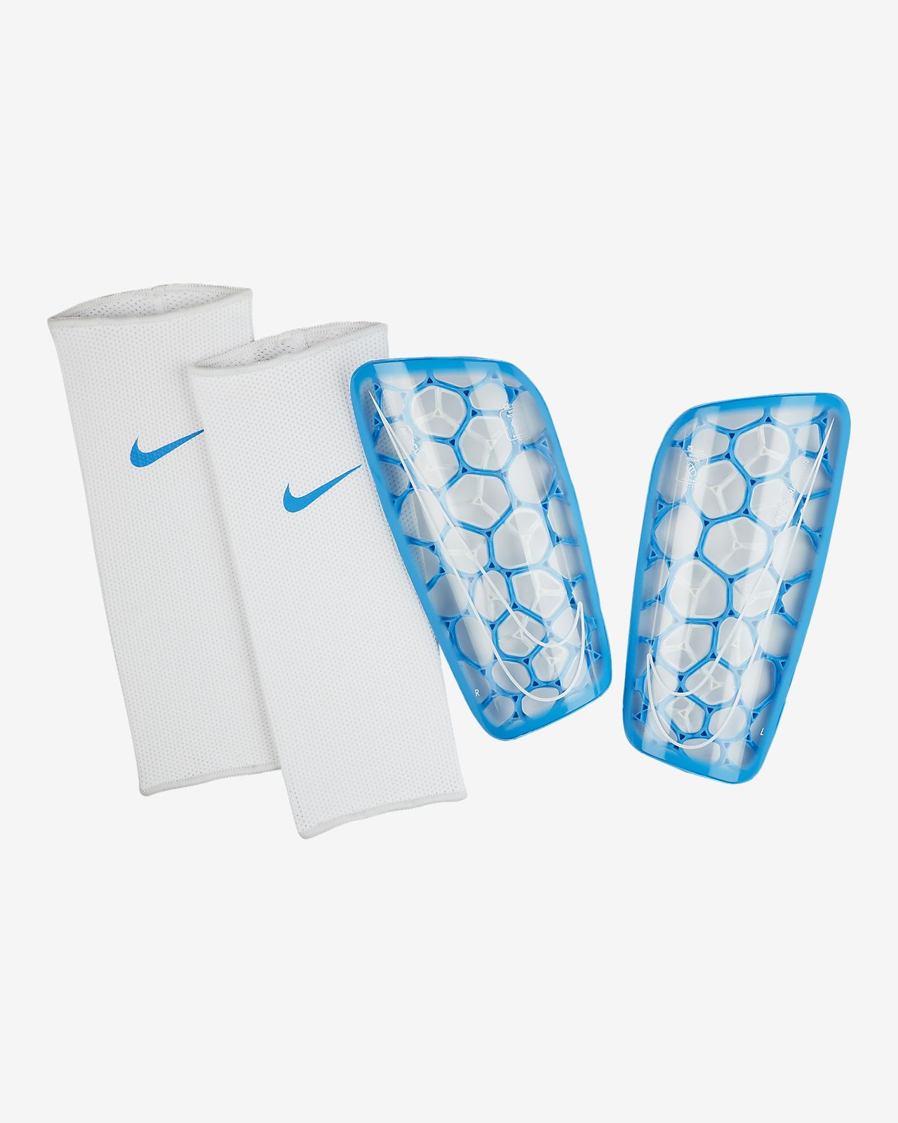 best choice classic fit new images of Nike Mercurial Flylite Soccer Shin Guards