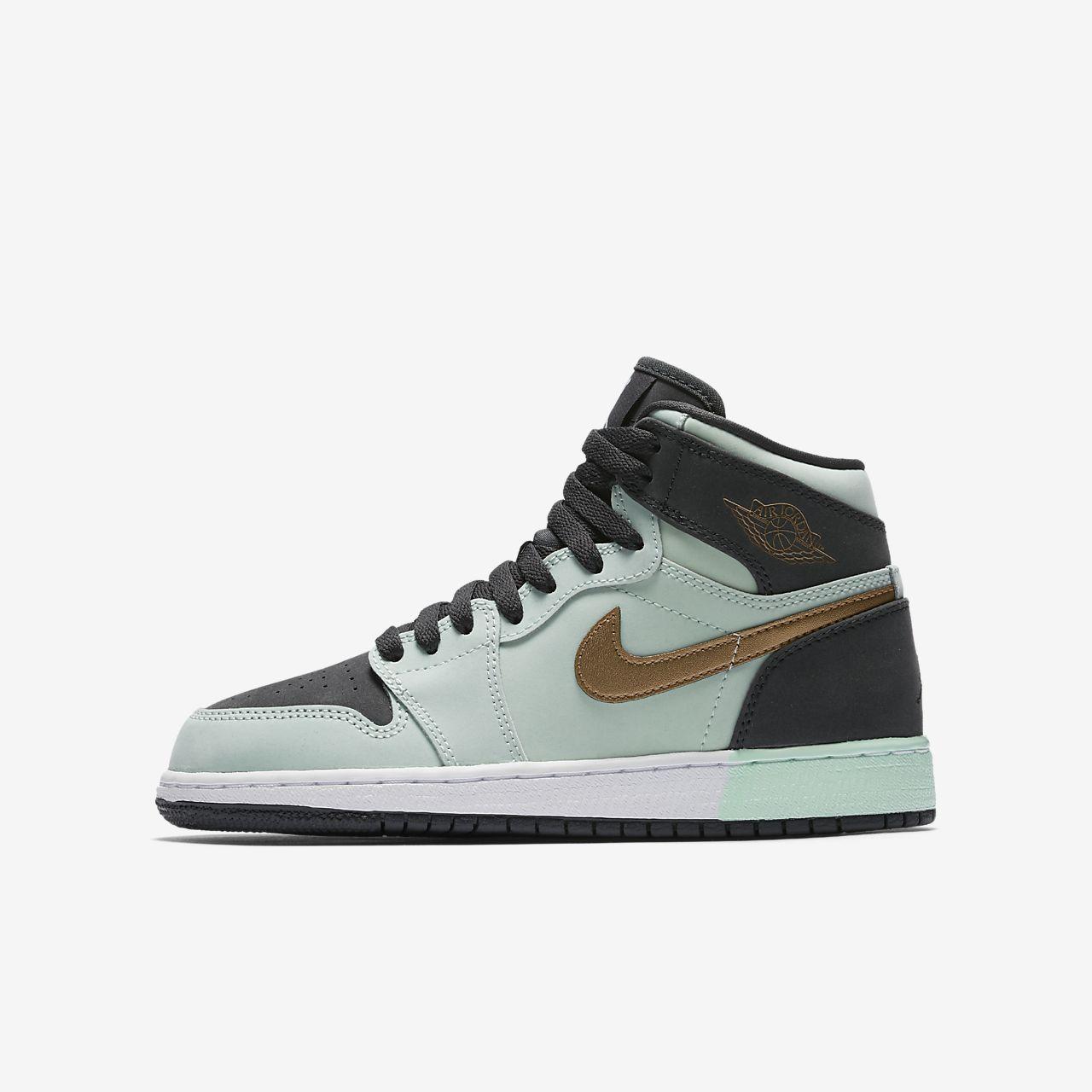 Jordan Retro 1 High Older Kids  Shoe. Nike.com IN 99c7a5375c