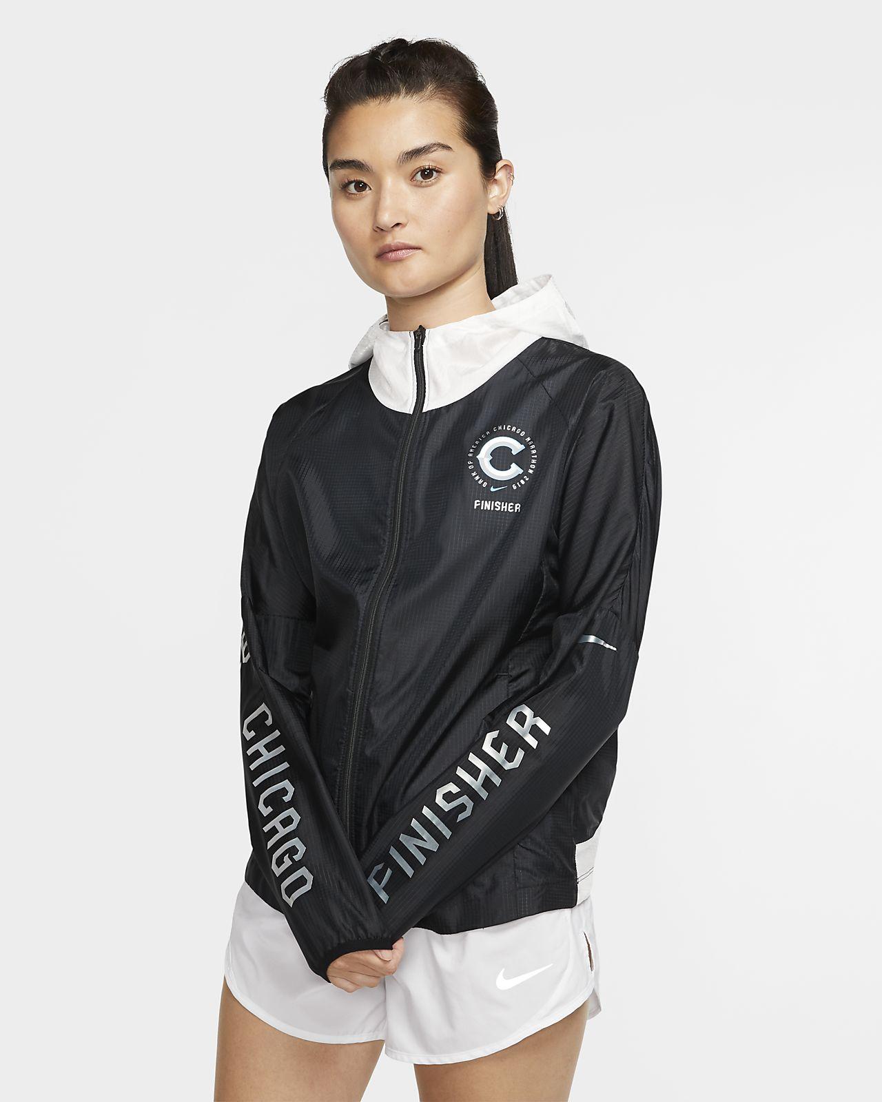 Nike Chicago Finisher Women's Hooded Running Jacket