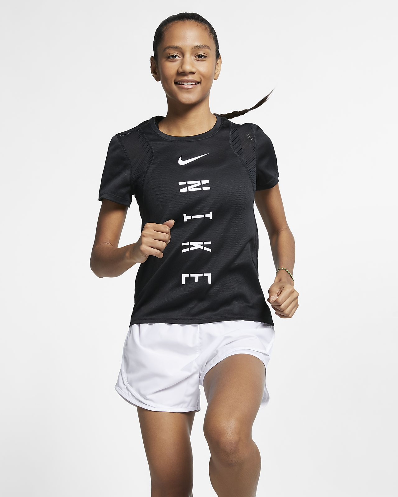 Nike Run Women's Graphic Running Top
