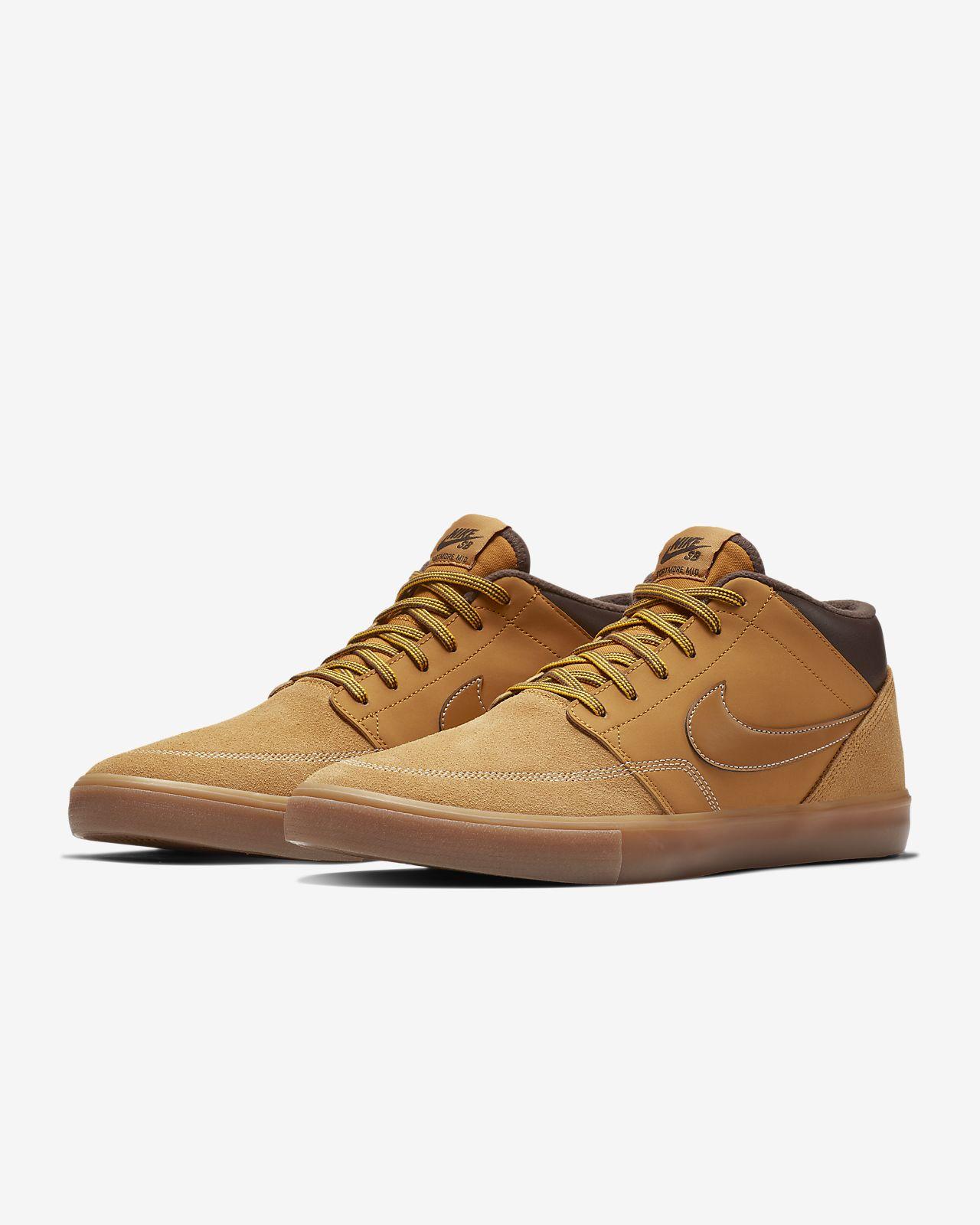 831a2276d56b03 Nike SB Portmore II Solarsoft Mid Bota Skateboarding Shoe. Nike.com AU