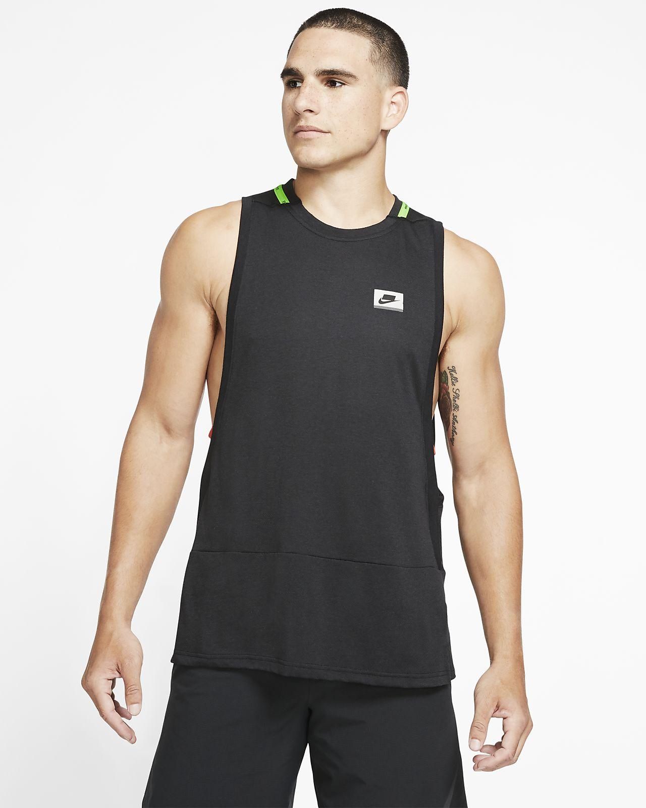 Pánské tréninkové tílko Nike Dri-FIT Sport Clash