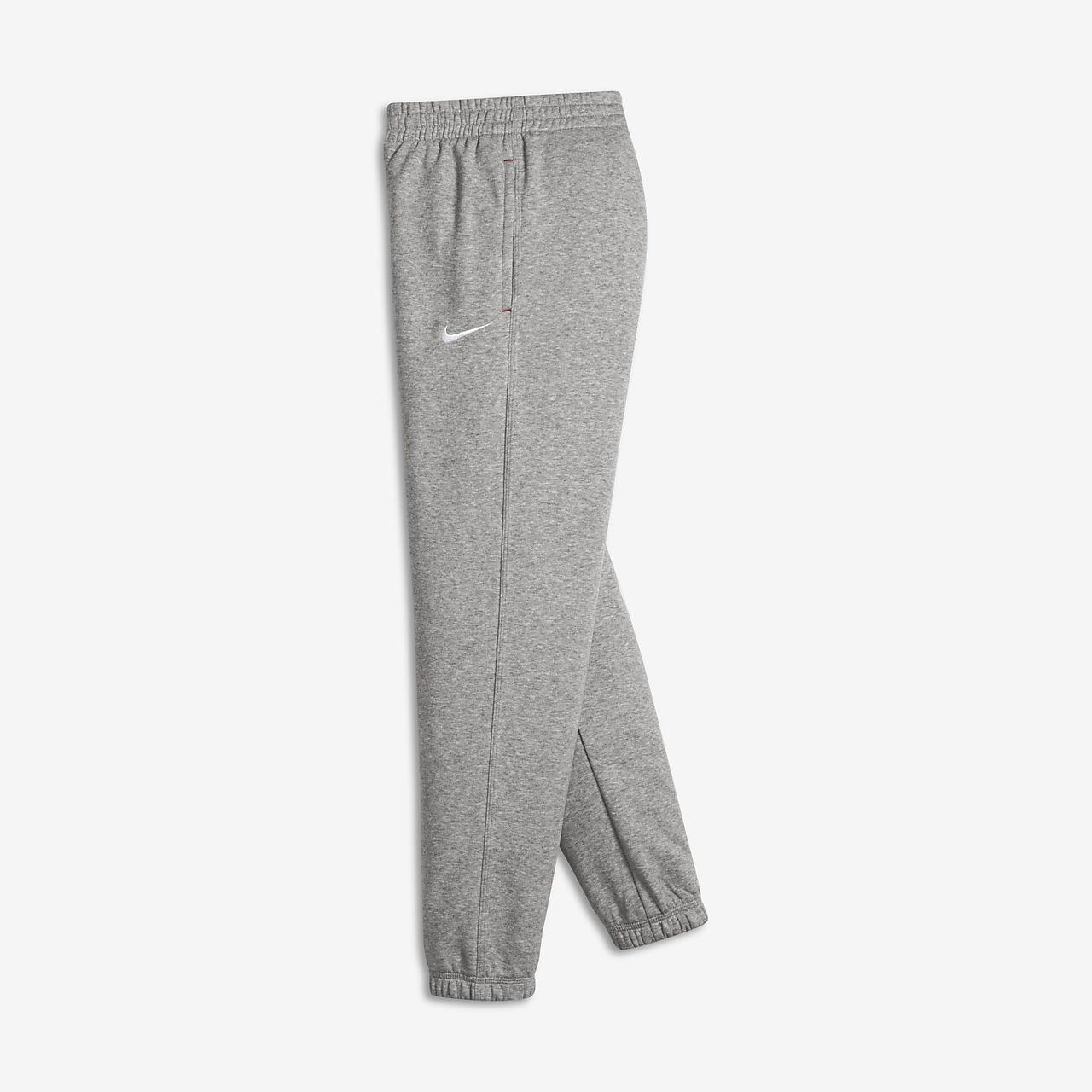 Pantalon de survêtement Nike Brushed-Fleece Cuffed pour Garçon