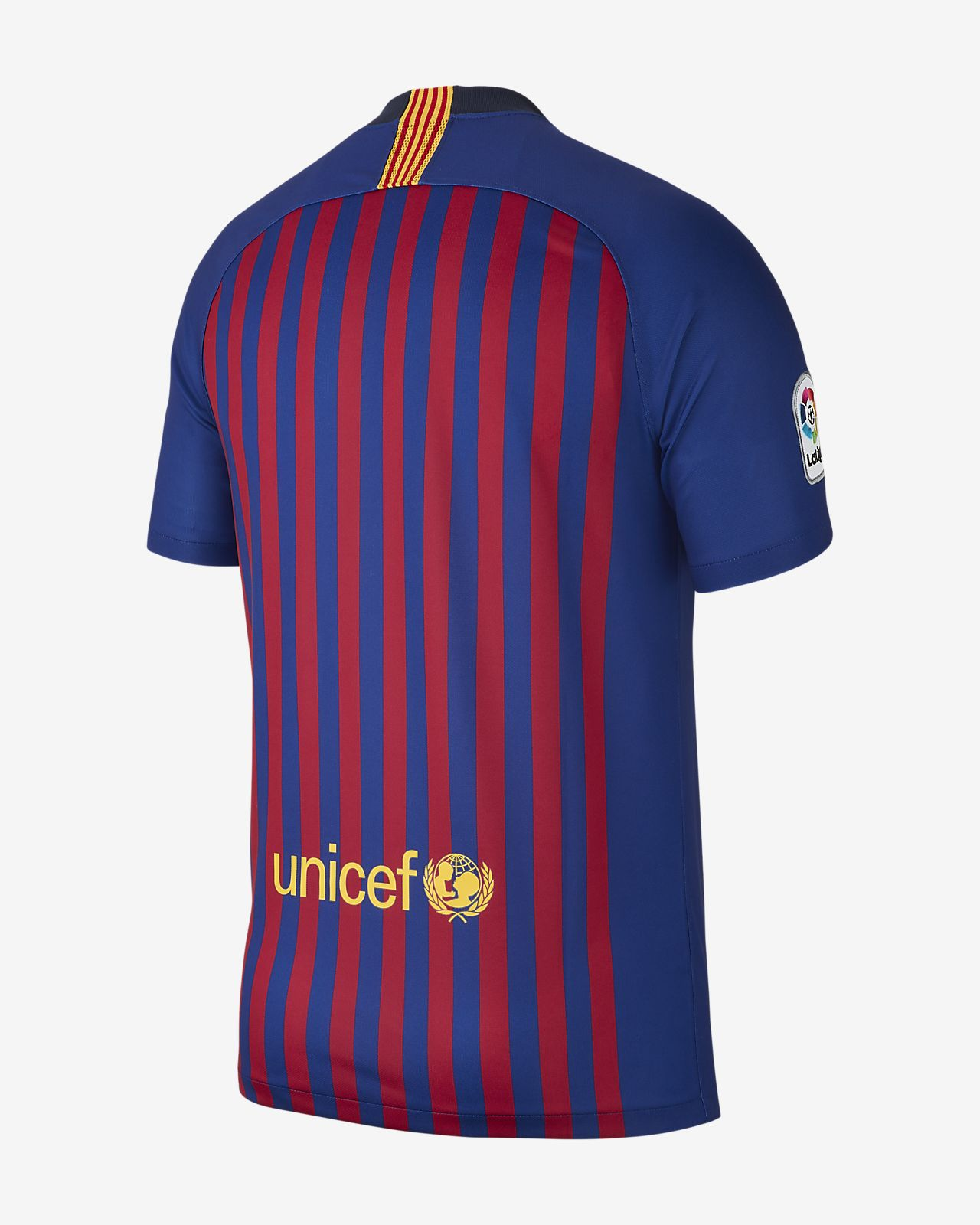 b919d9af267 2018 19 FC Barcelona Stadium Home Men s Football Shirt. Nike.com CA