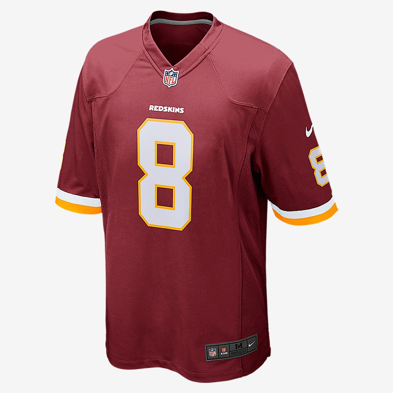 NFL Washington Redskins (Kirk Cousins) Camiseta de fútbol americano de la  1ª equipación - 23413d4e1be