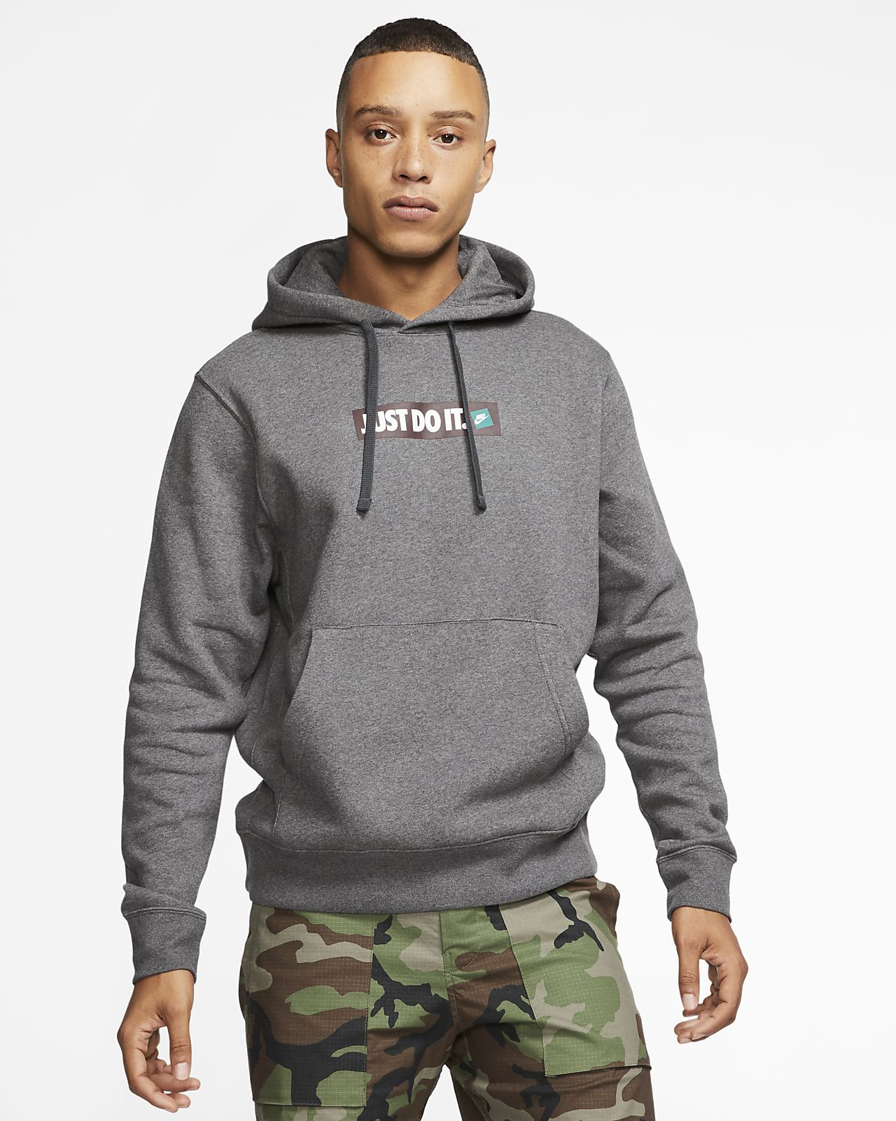Nike Men's Sportswear Just Do It Fleece Hoodie | Hoodies