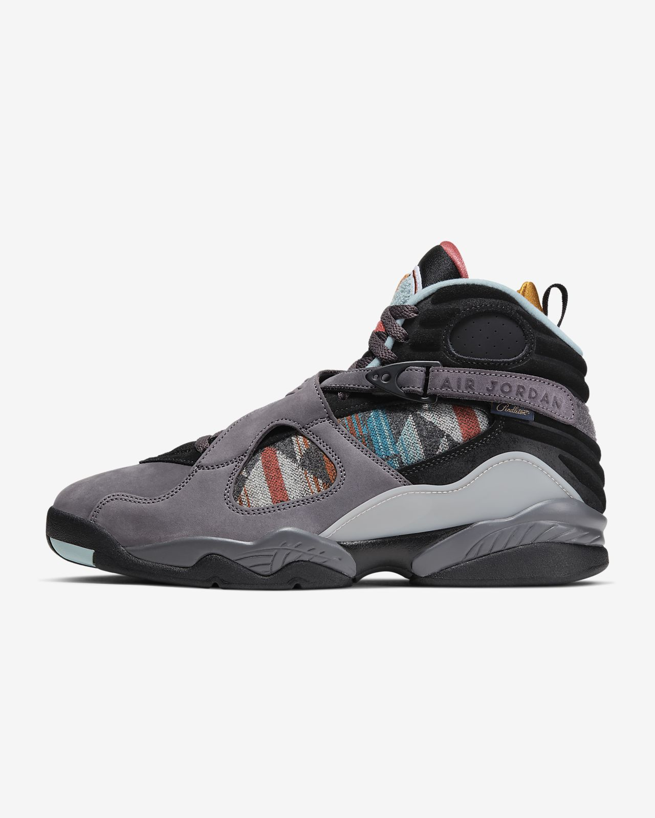 Air Jordan 8 Retro N7 x Pendleton Men's Shoe