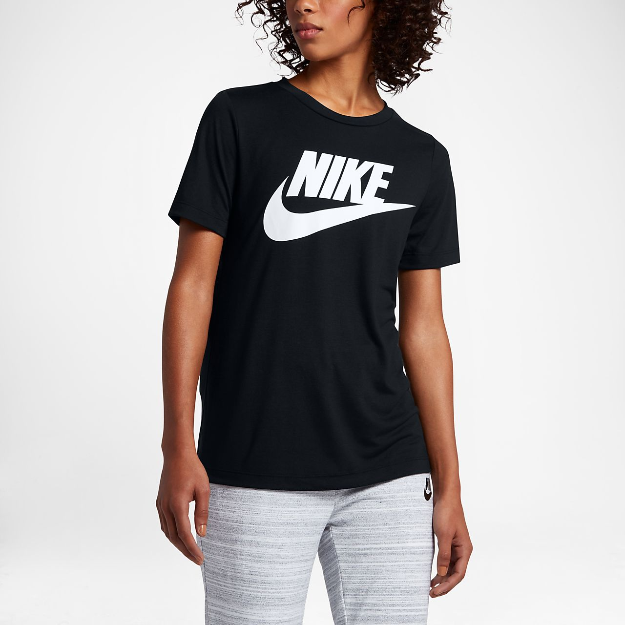 ... Nike Sportswear Essential Women's Logo Short Sleeve Top