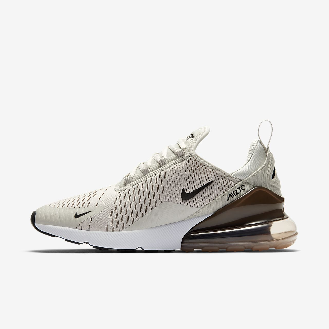 Gris Nike Air Max 270 Chaussures Taille 35 Hommes 2CyGDWP