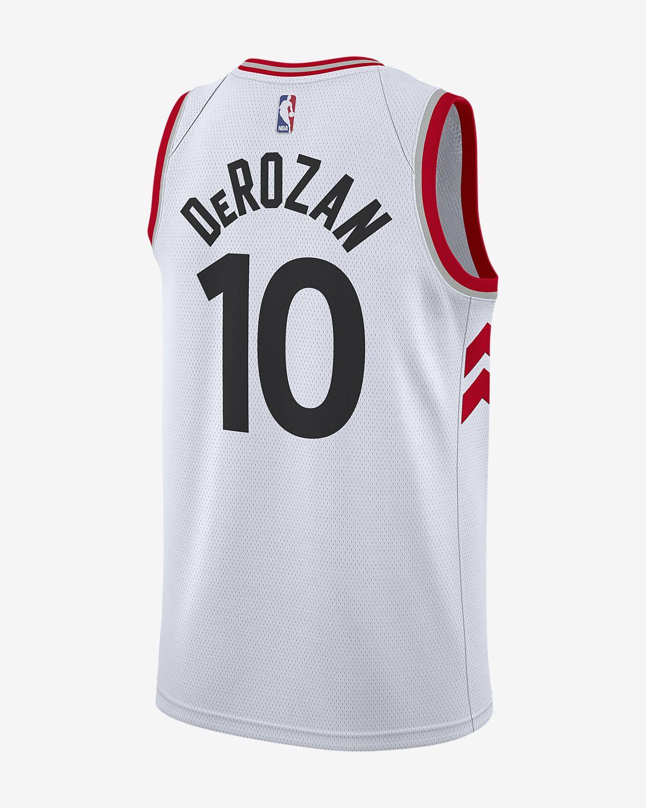 c22346c6624 ... DeMar DeRozan Association Edition Swingman (Toronto Raptors) Men s Nike  NBA Connected Jersey