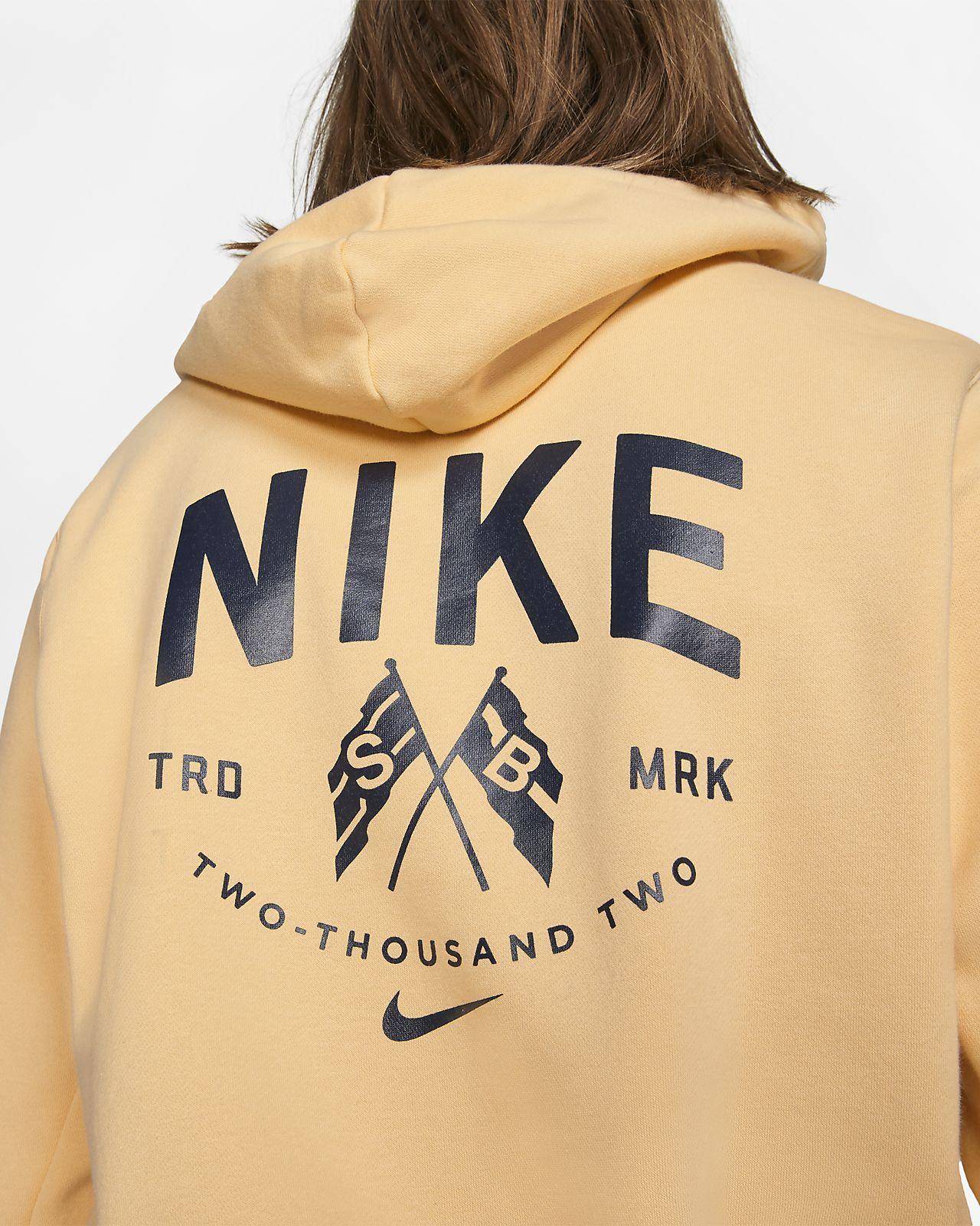 Nike SB Langarm Skateboard Hoodie für Herren