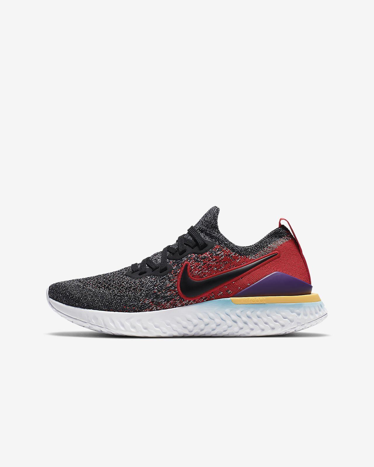 Löparsko Nike Epic React Flyknit 2 för ungdom