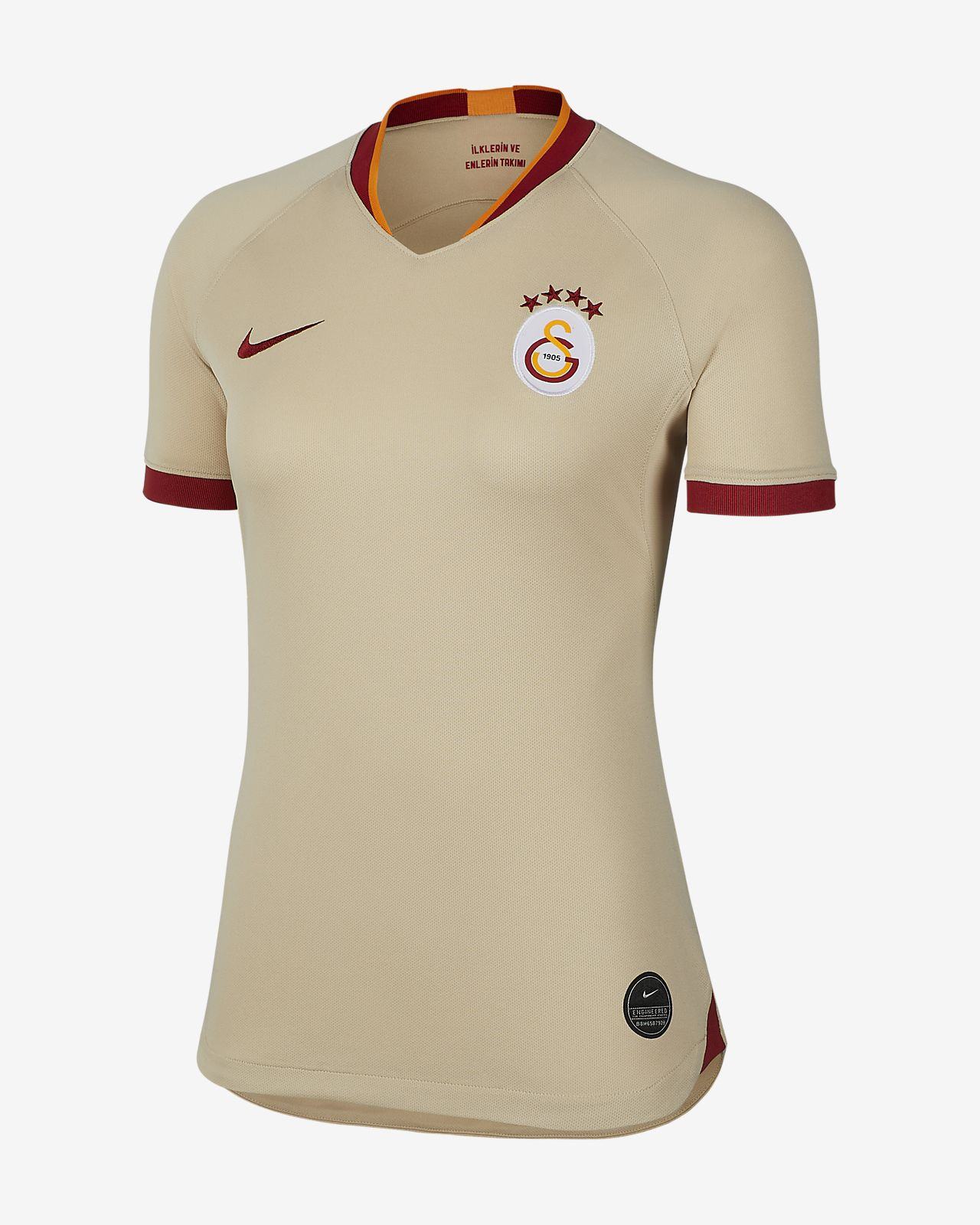 Fotbollströja Galatasaray 2019/20 Stadium Away för kvinnor