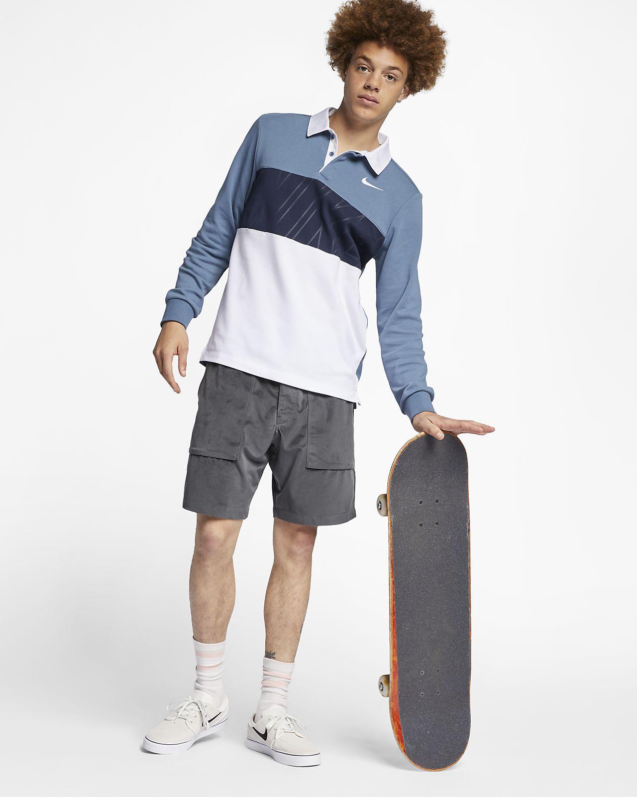 44373d026 Nike SB Dri-FIT Men's Long-Sleeve Skate Polo. Nike.com CH