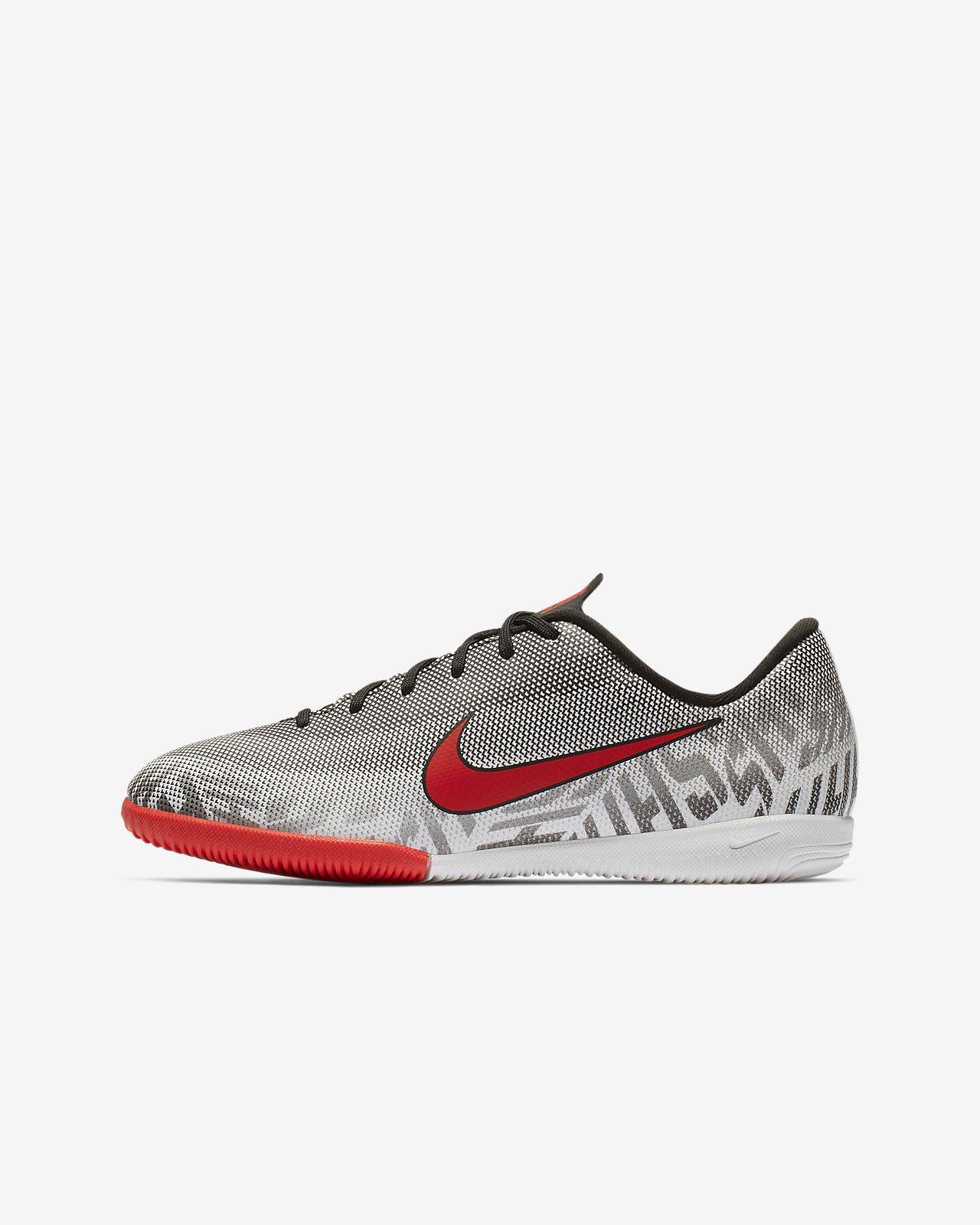 Nike Jr. Vapor XII Academy Neymar Jr. IC Younger/Older Kids' Indoor/Court Football Shoe