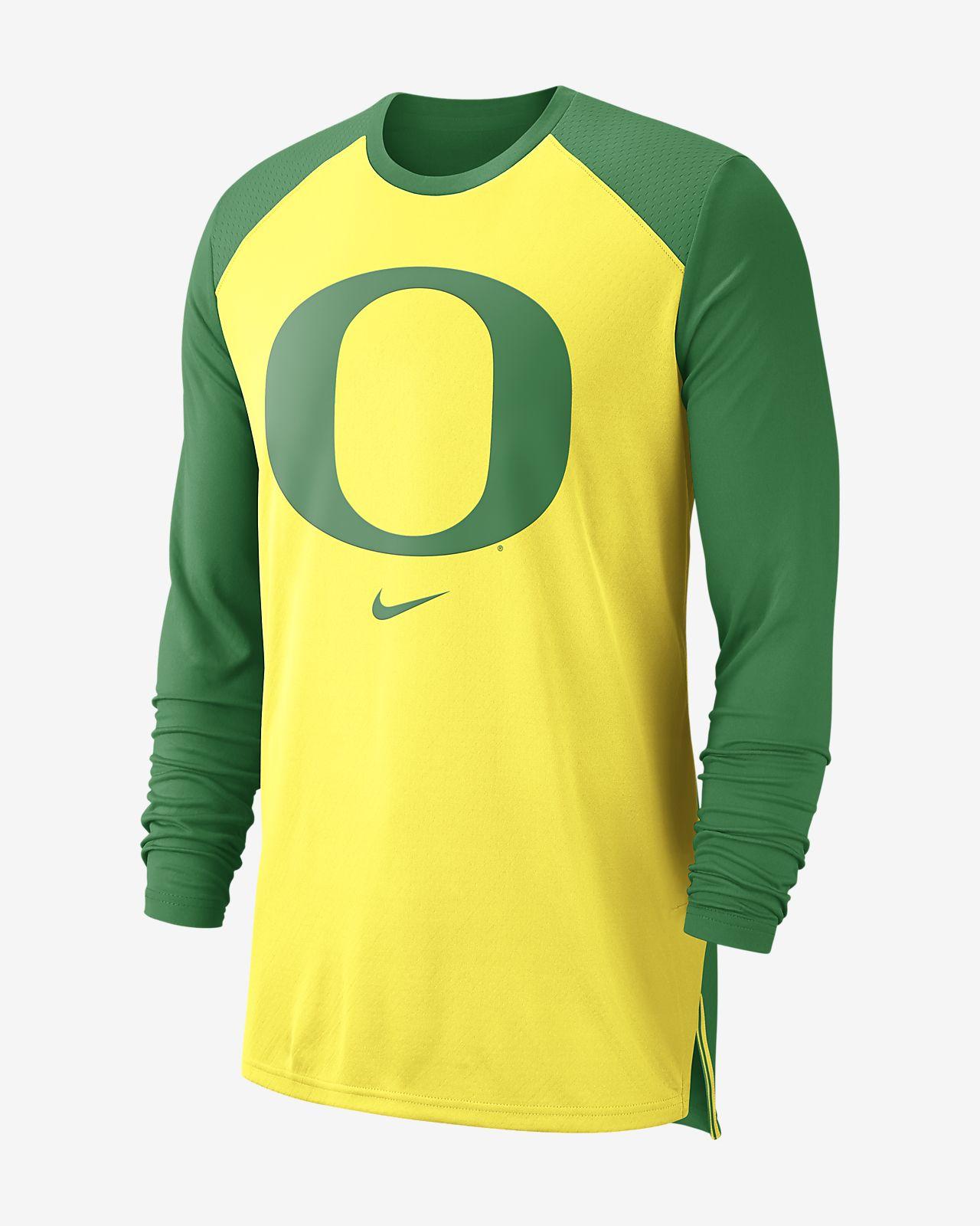 Nike College Breathe (Oregon) Men's Long-Sleeve Top