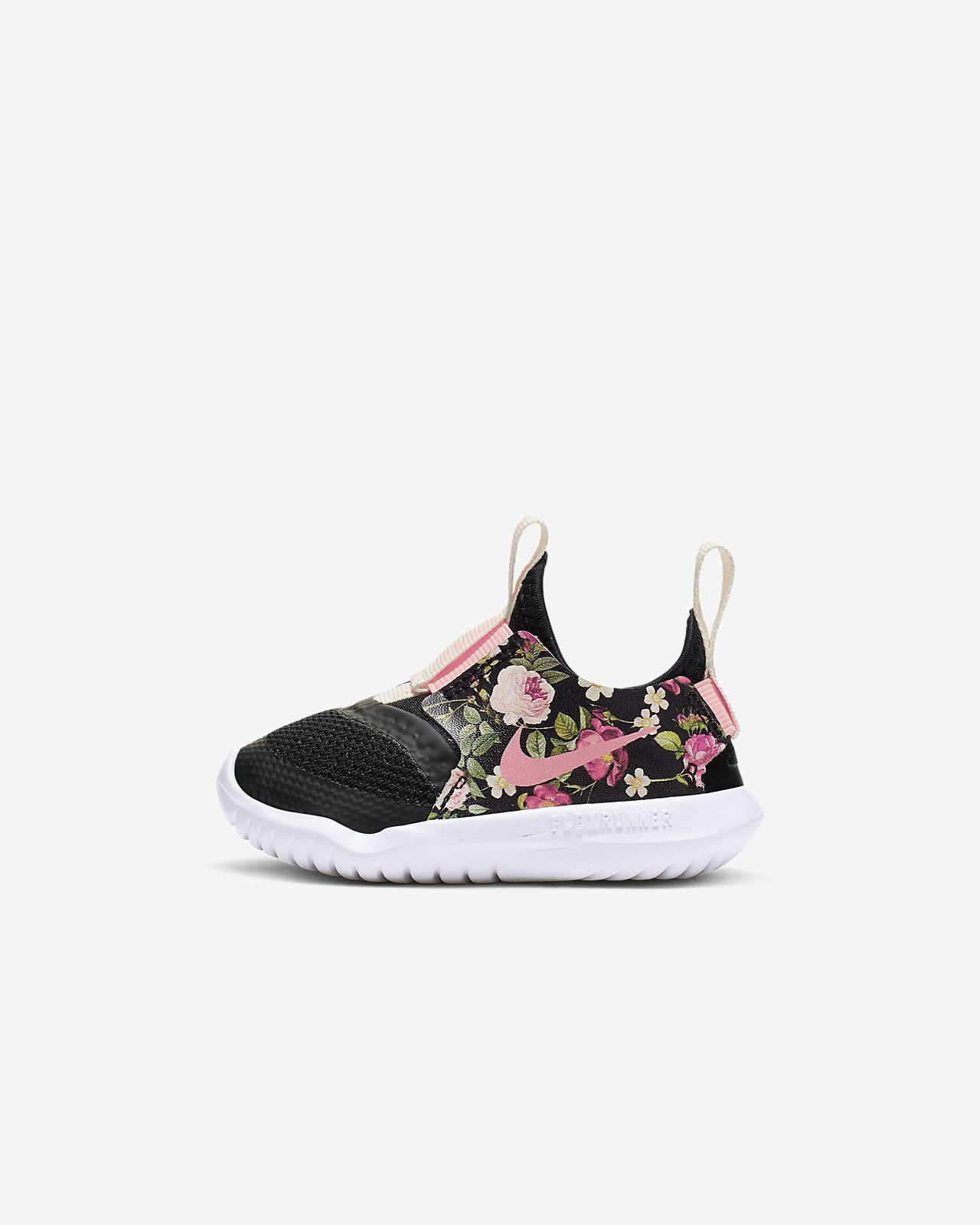 Nike Flex Runner Vintage Floral Baby/Toddler Shoe