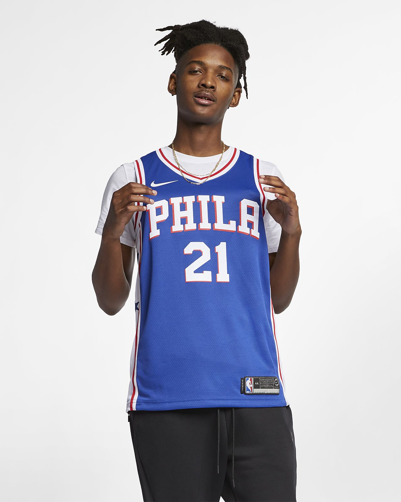 Joel Embiid Icon Edition Swingman (Philadelphia 76ers) Nike NBA Connected férfimez