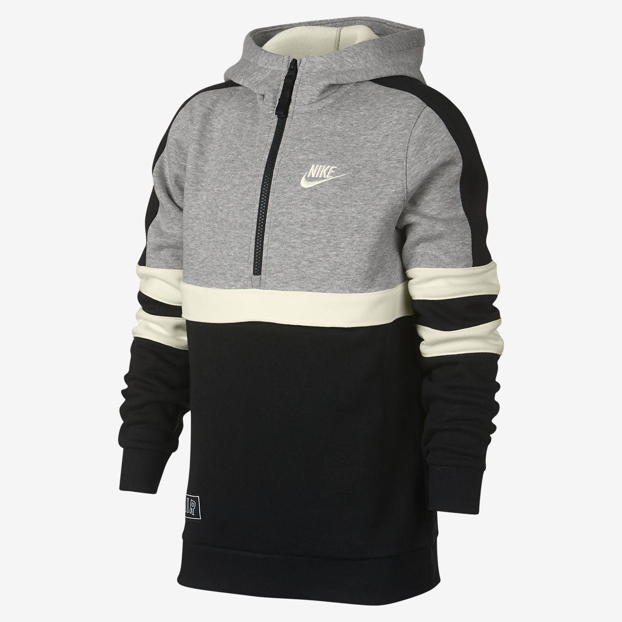Sweat à capuche demi-zippé Nike Sportswear pour Enfant plus âgé