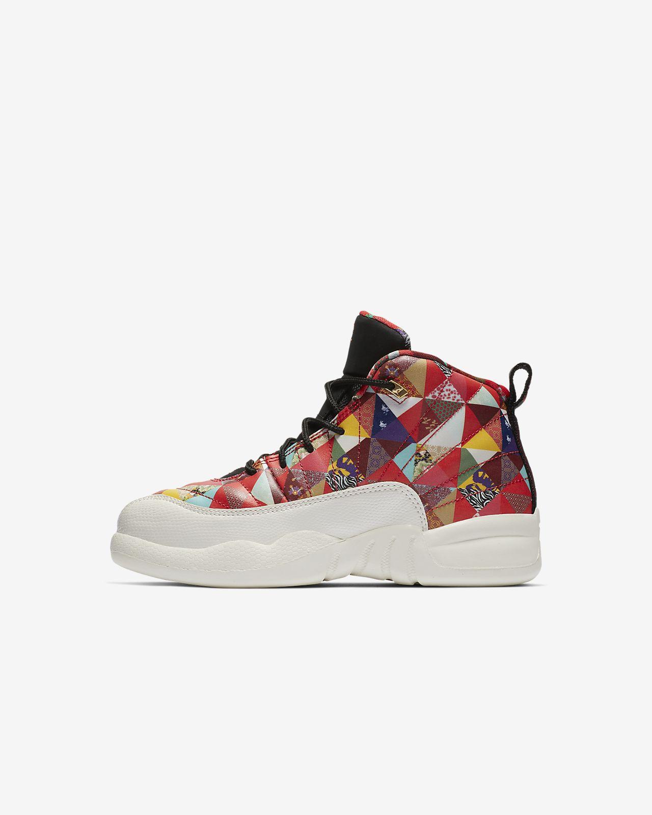 Air Jordan 12 Retro CNY Little Kids  Shoe. Nike.com 3ef71c7be