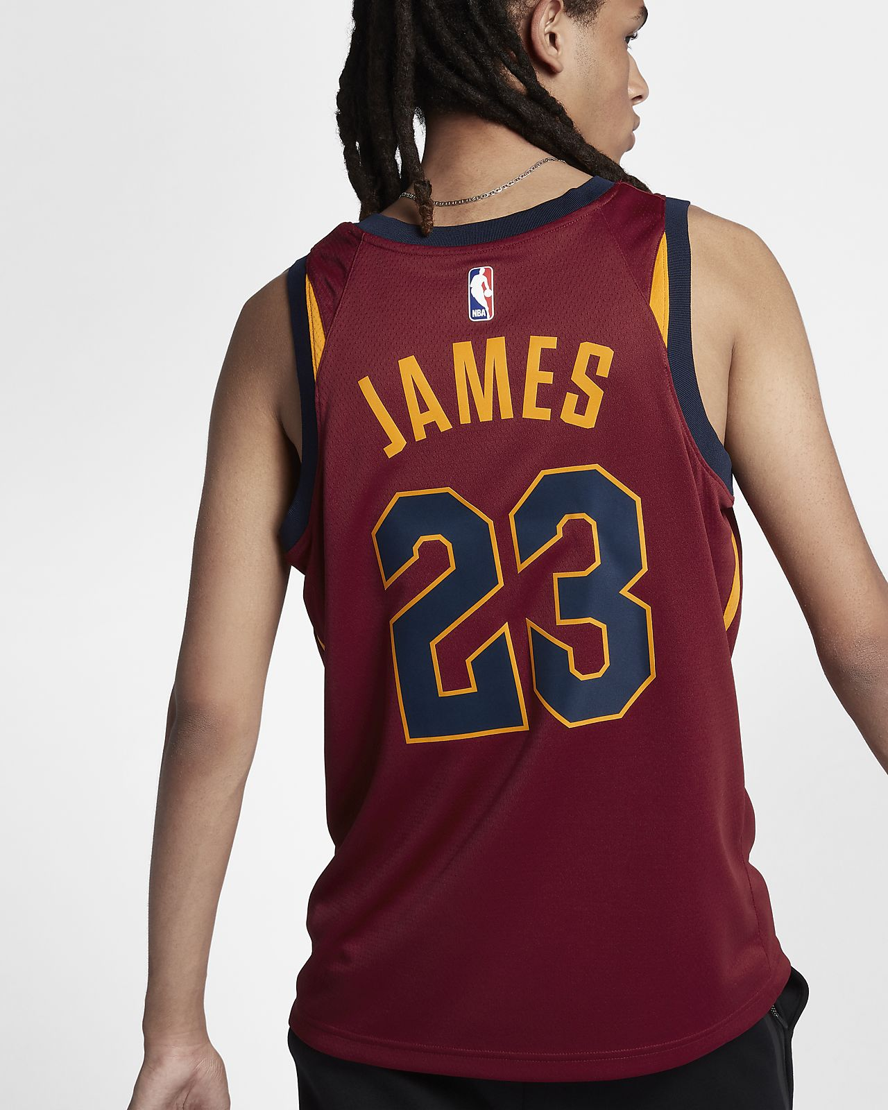 8dfdac9e099 ... LeBron James Icon Edition Swingman Jersey (Cleveland Cavaliers) Men s  Nike NBA Connected Jersey