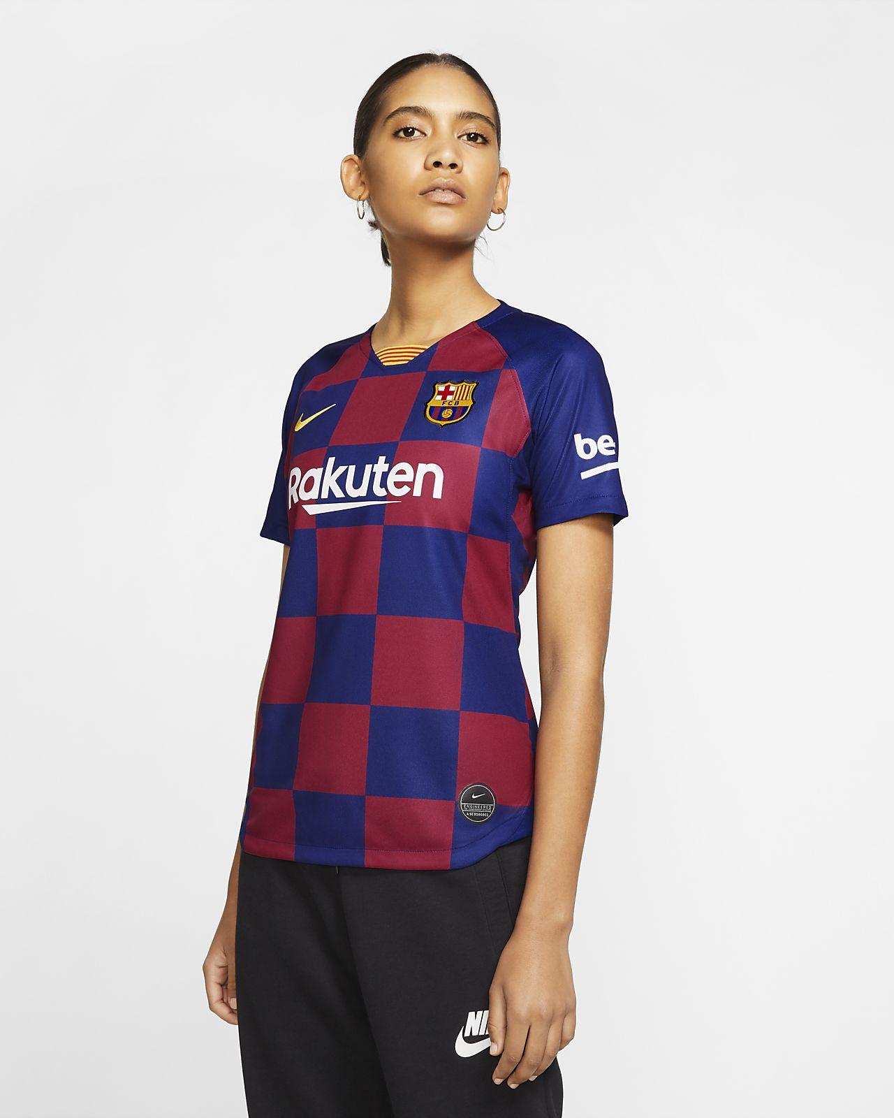 FC Barcelona 2019/20 Stadium Home Kadın Futbol Forması