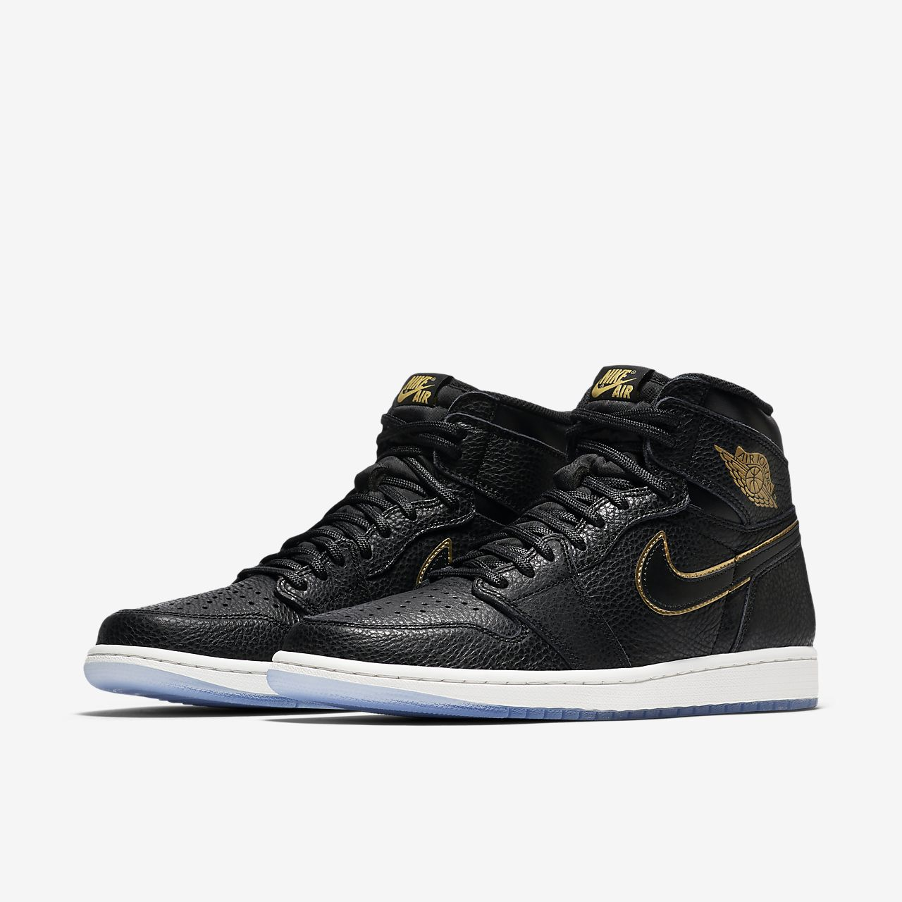 nike air jordan 1 retro nere