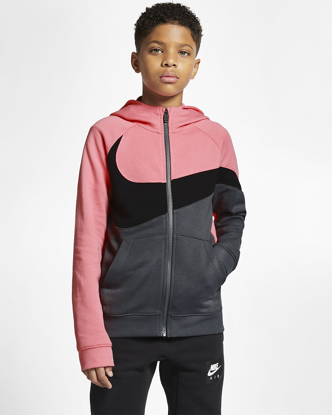 Sweat à capuche entièrement zippé Nike Sportswear pour Enfant